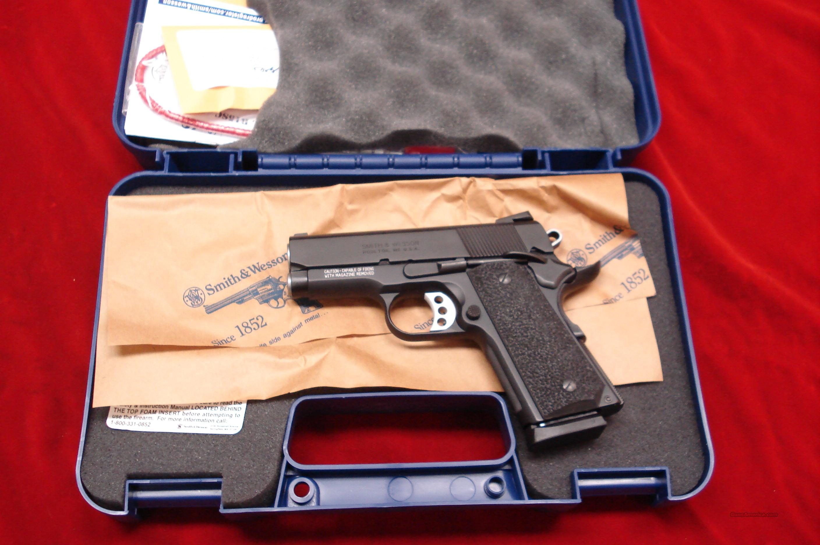 "SMITH AND WESSON SUB COMPACT SCANDIUM SW1911 PRO SERIES 3"" 45ACP NEW   (178020)  Guns > Pistols > Smith & Wesson Pistols - Autos > Alloy Frame"