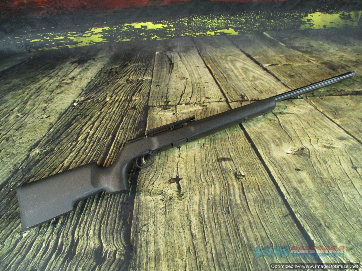 "Savage A22 Pro Varmint 22"" Threaded semi-automatic Used (67390)  Guns > Rifles > Savage Rifles > Rimfire"