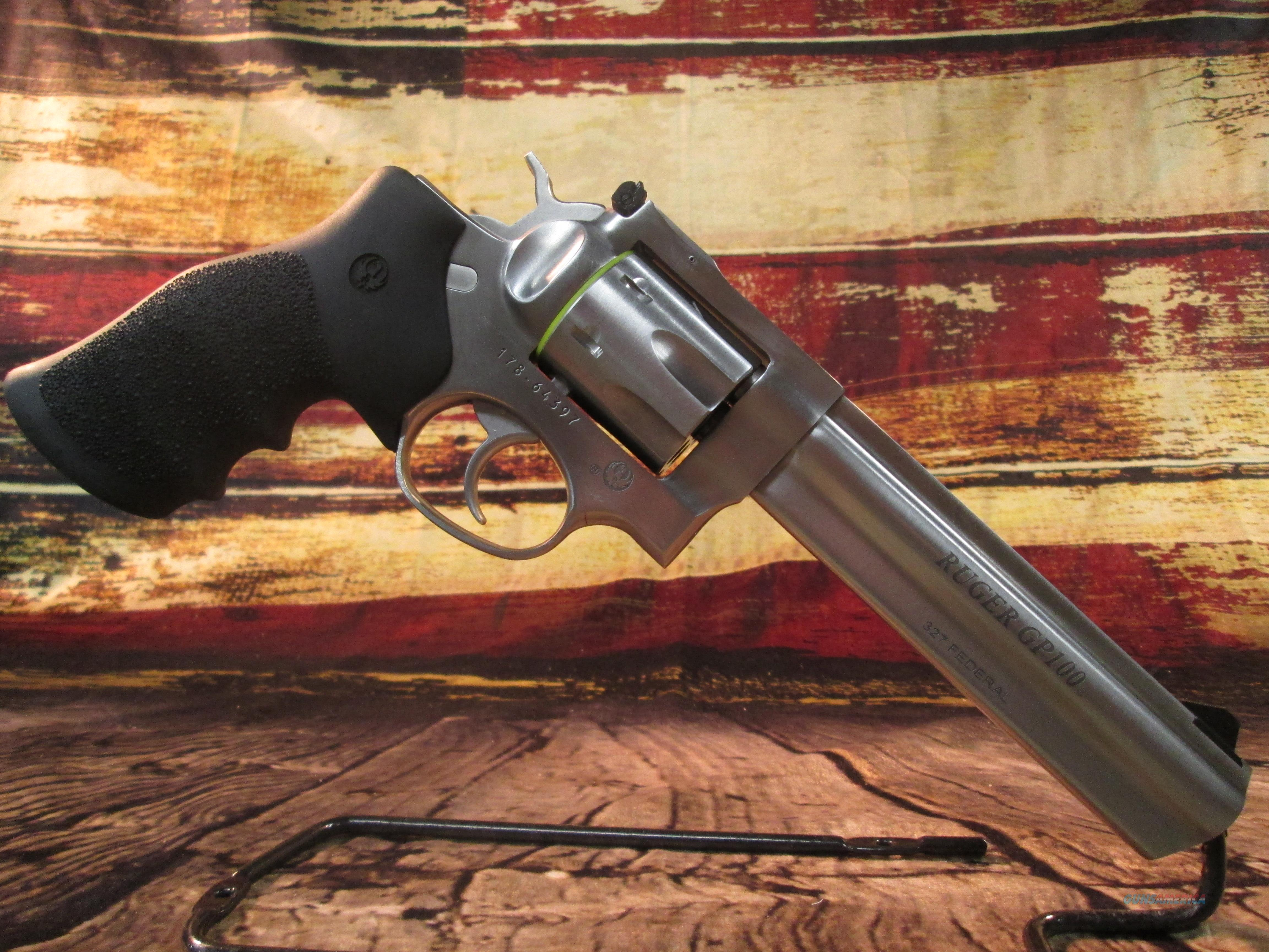 RUGER GP100 327 FEDERAL NEW (1764)  Guns > Pistols > Ruger Double Action Revolver > GP100