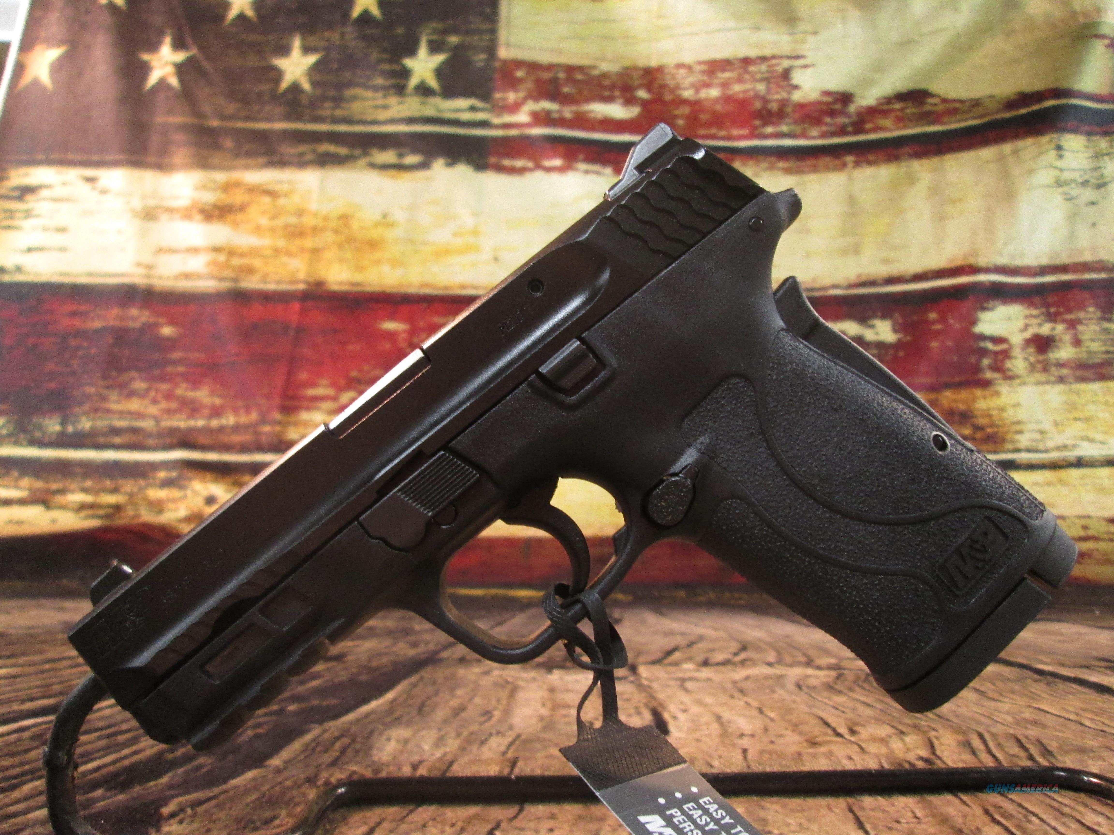 S&W M&P 380 SHIELD EZ NEW - NO THUMB SAFETY (180023)  Guns > Pistols > Smith & Wesson Pistols - Autos > Polymer Frame