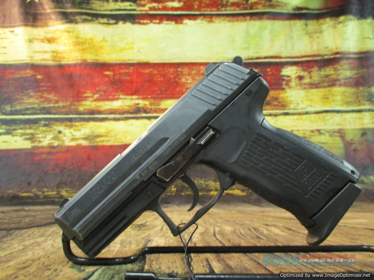 Heckler & Koch (HK) P2000 Compact 40 S&W Used (67670)  Guns > Pistols > Heckler & Koch Pistols > Polymer Frame