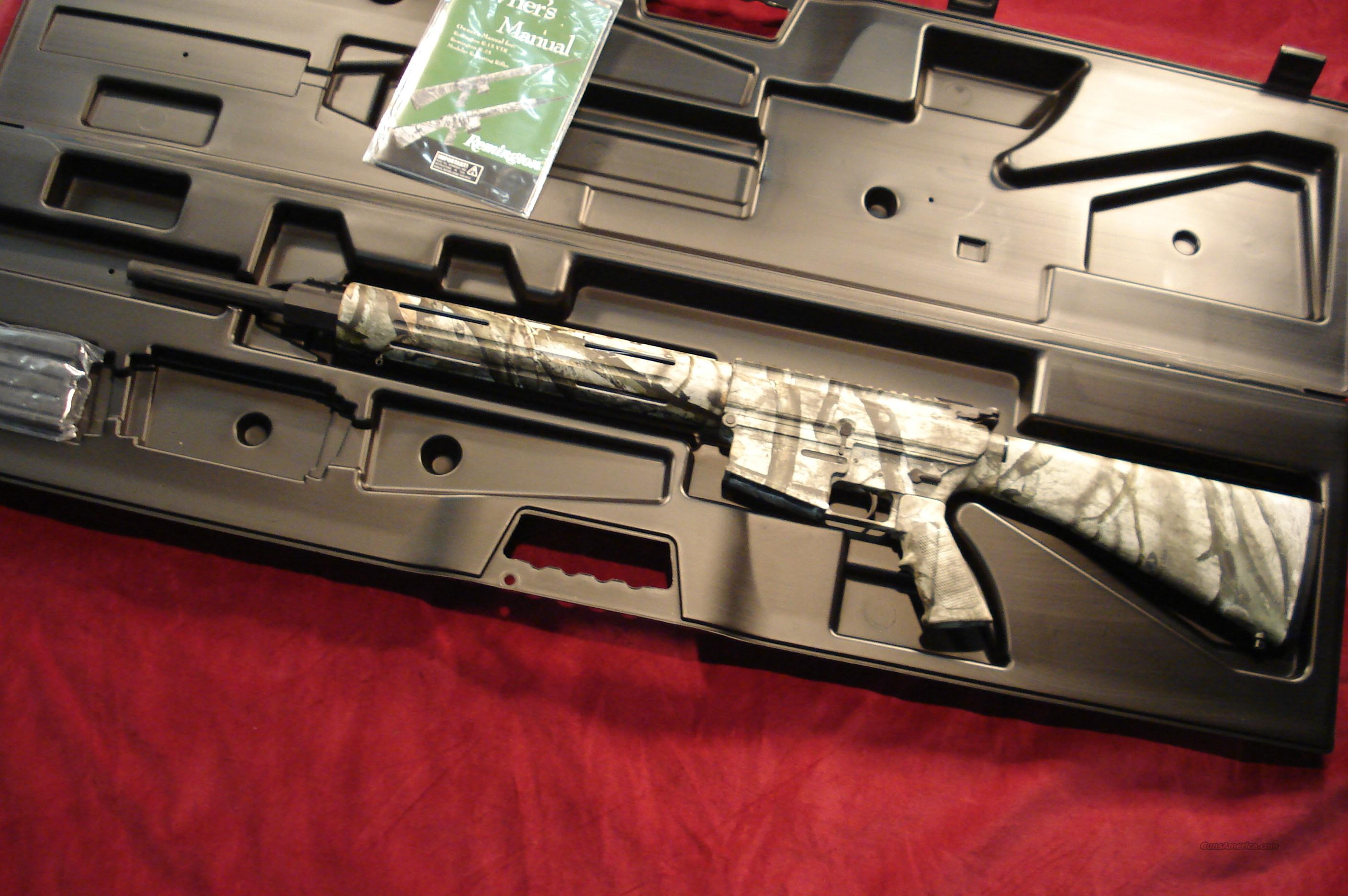 REMINGTON R-25 VTR 243 CAL. CAMO NEW  Guns > Rifles > AR-15 Rifles - Small Manufacturers > Complete Rifle