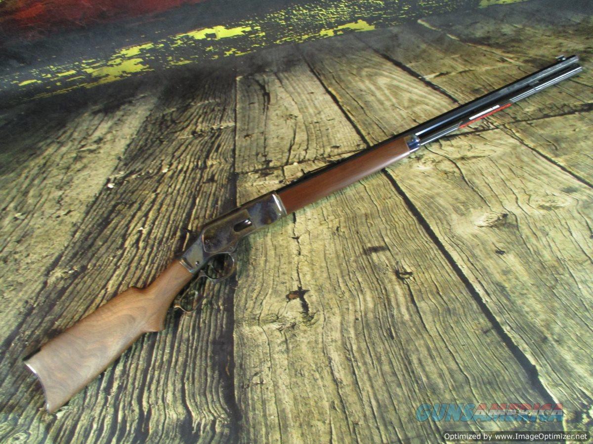 "Winchester 1873 Sporter 45 Colt Case Hardened 24"" NEW (534228141)  Guns > Rifles > Winchester Rifles - Modern Lever > Other Lever > Post-64"
