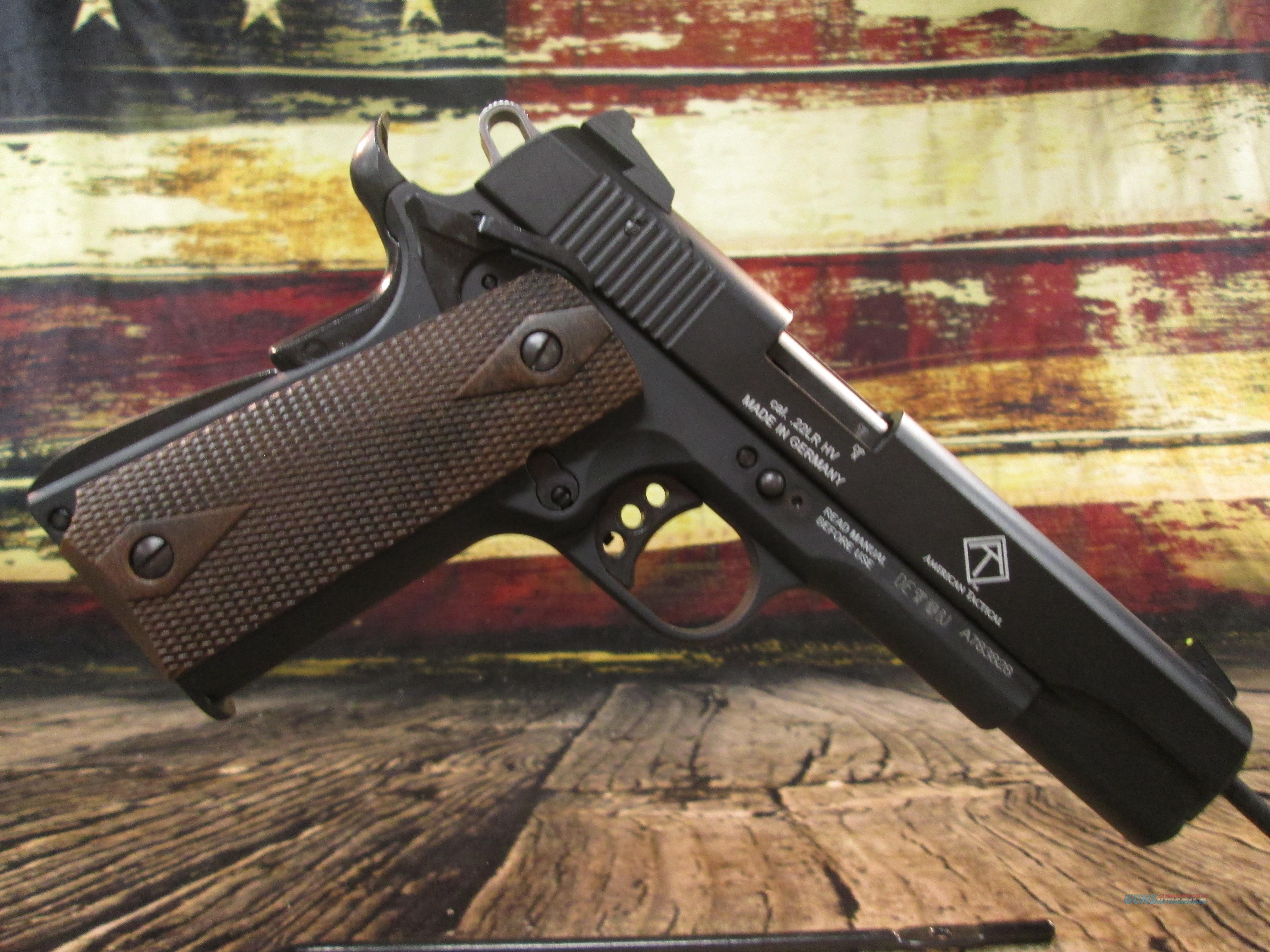 GSG 1911-22 Black 22lr NEW (2210M1911)  Guns > Pistols > 1911 Pistol Copies (non-Colt)