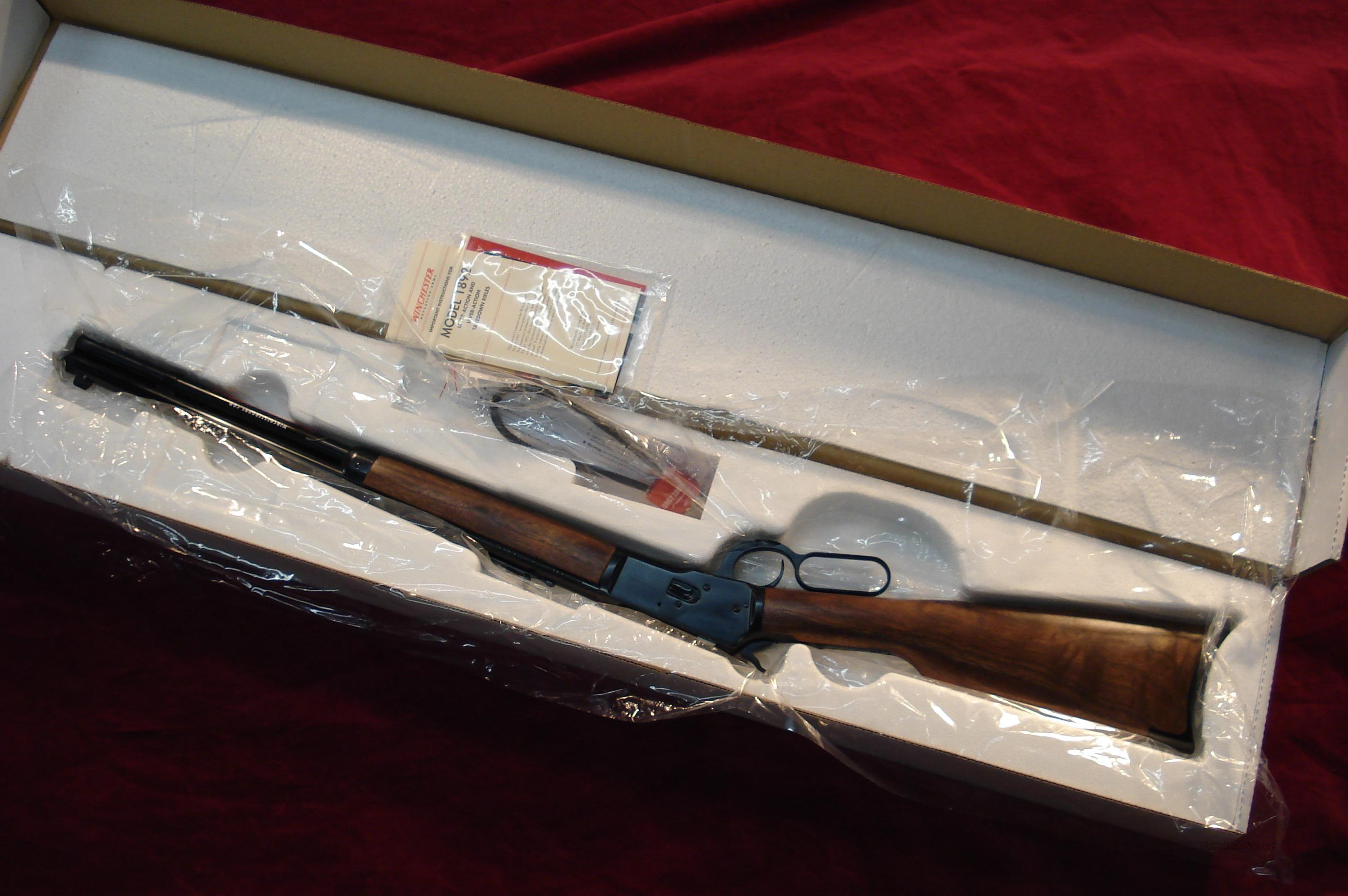 WINCHESTER 1892 SHORT .357MAG. NEW  Guns > Rifles > Winchester Rifles - Modern Lever > Other Lever > Post-64
