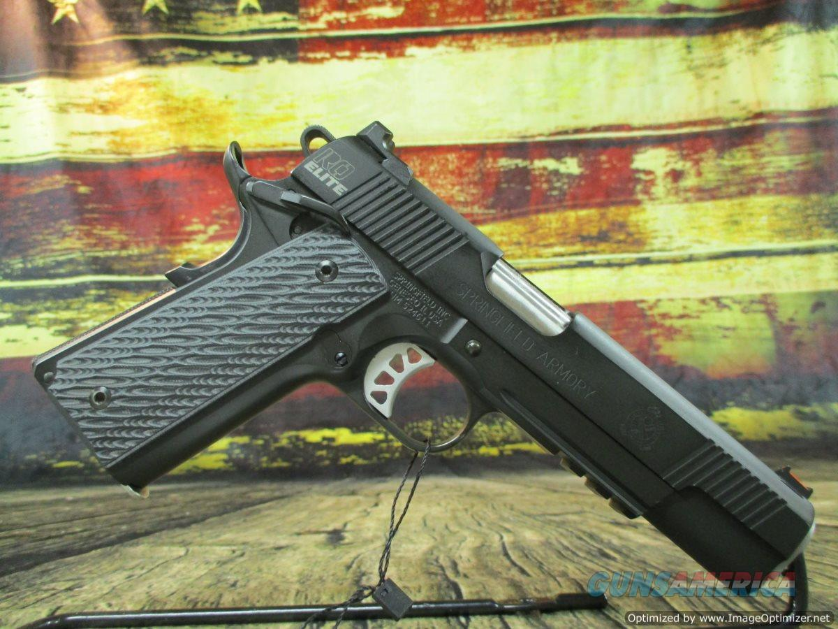 Springfield Armory 1911 Range Officer Elite Operator Package 9mm Used (67474)  Guns > Pistols > Springfield Armory Pistols > 1911 Type