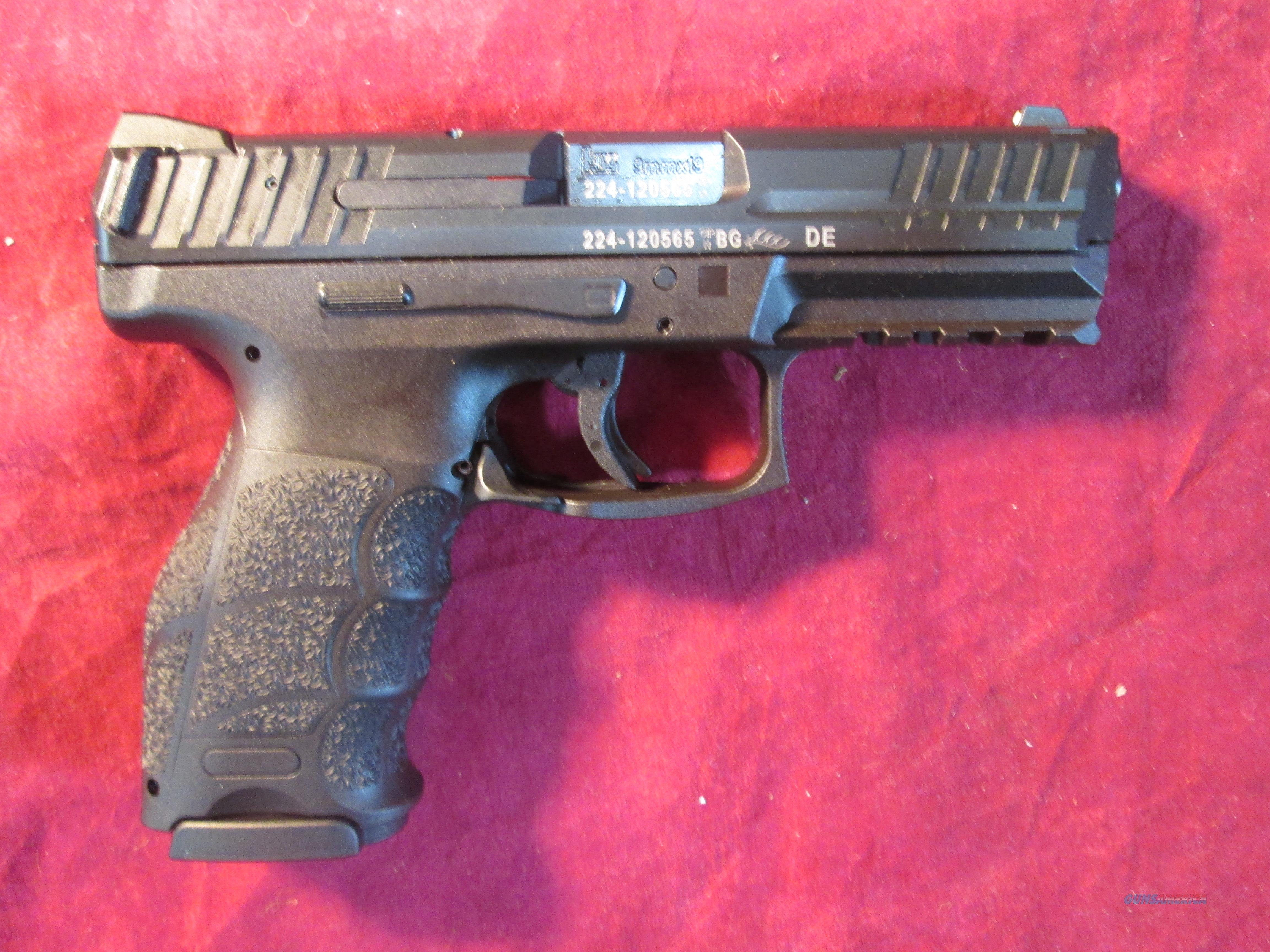 HK VP9 9MM-V1 STRIKER FIRED HIGH CAPACITY NEW (M700009-A5)  Guns > Pistols > Heckler & Koch Pistols > Polymer Frame