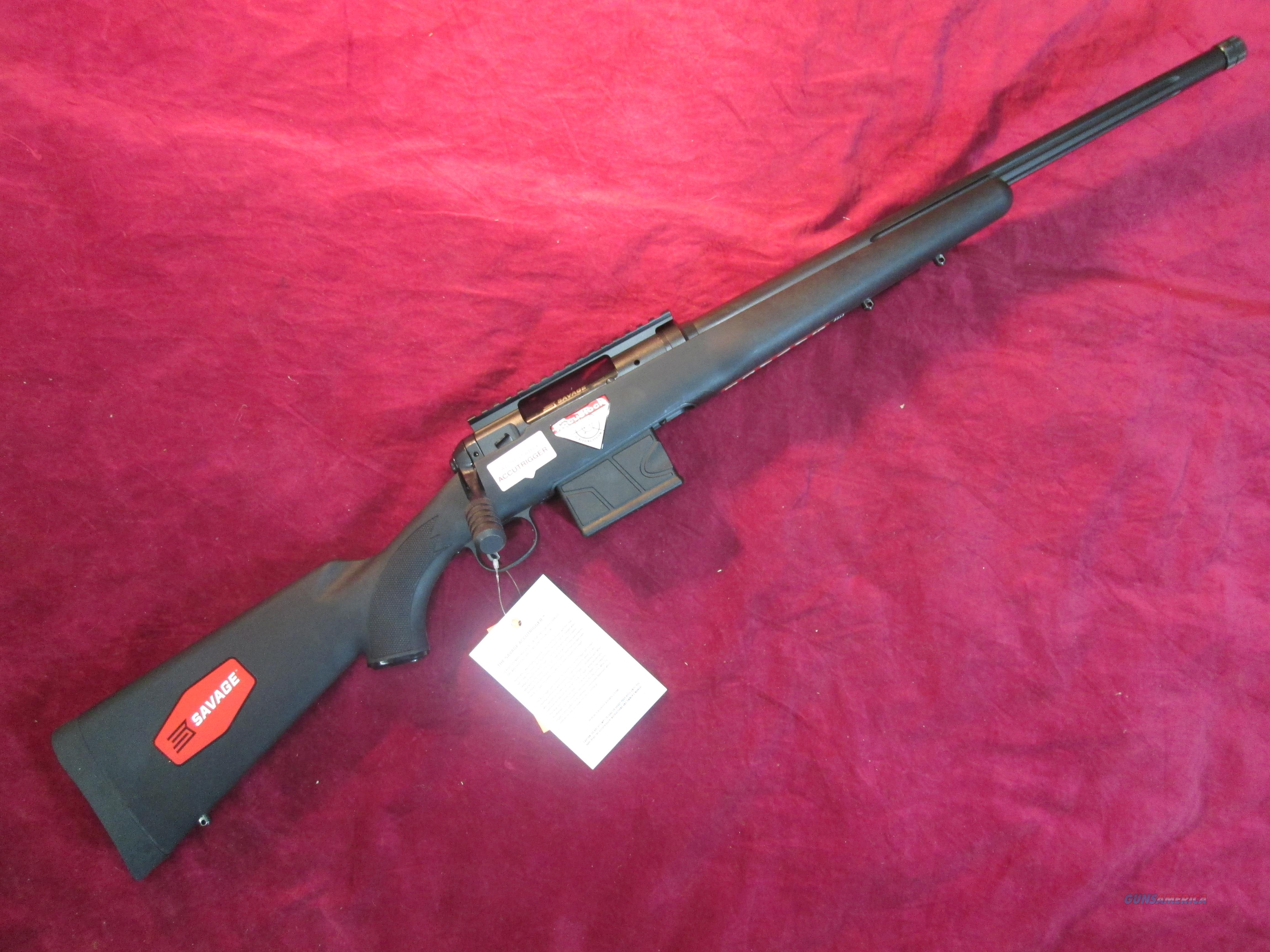 "SAVAGE MODEL 10 FCP-SR 6.5 CREEDMOOR CAL 20"" THREADED W/ ACCUSTOCK NEW (22619)  Guns > Rifles > Savage Rifles > 10/110"