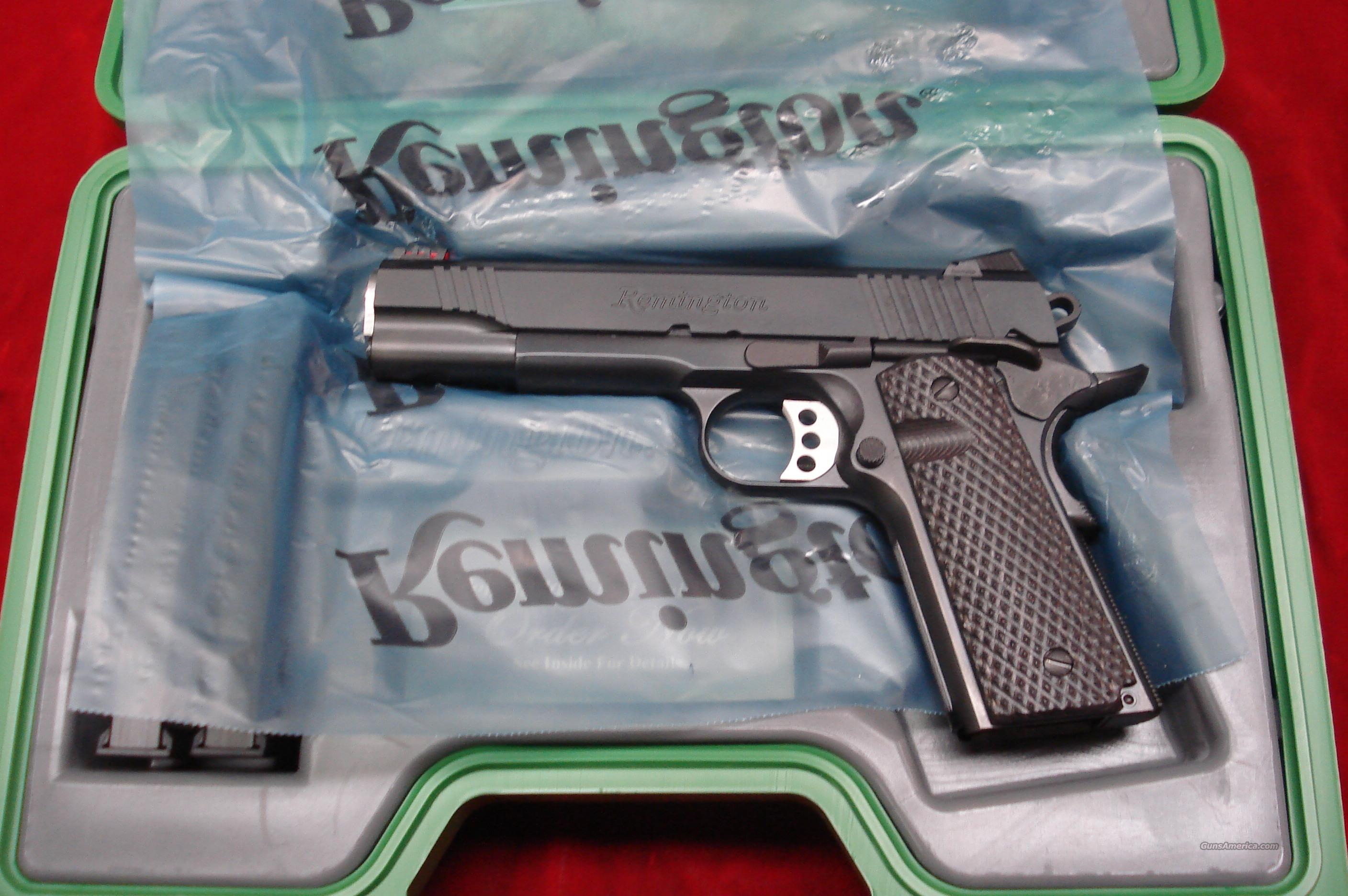 REMINGTON ENHANCED EDITION 1911 R1 45ACP NEW {{ IN STOCK READY TO SHIP }}  Guns > Pistols > Remington Pistols - Modern