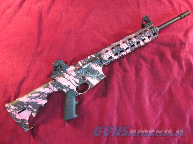SMITH AND WESSON M&P15-22 PINK PLATINUM 22LR NEW  (811051)   Guns > Rifles > Smith & Wesson Rifles > M&P
