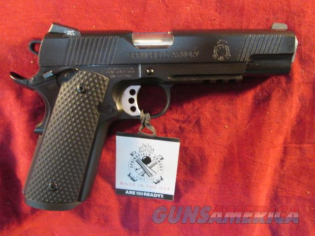 SPRINGFIELD ARMORY LOADED OPERATOR 45ACP W/ BLACK G10 GRIPS NEW (PX9105LLP)  Guns > Pistols > Springfield Armory Pistols > 1911 Type