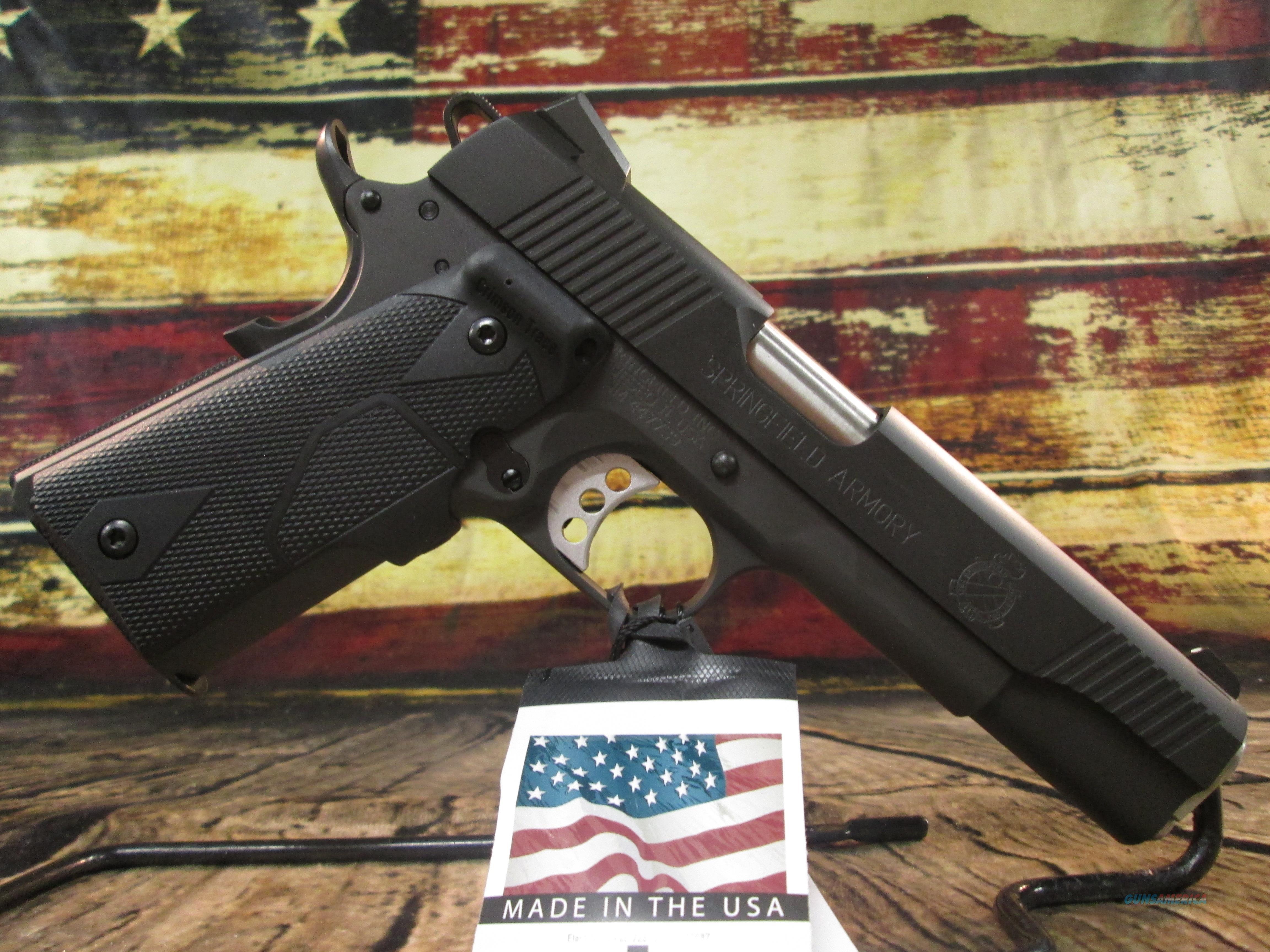 Springfield Armory 1911 Loaded W/ Crimson Trace 45 ACP (PI9109LPCT)  Guns > Pistols > Springfield Armory Pistols > 1911 Type