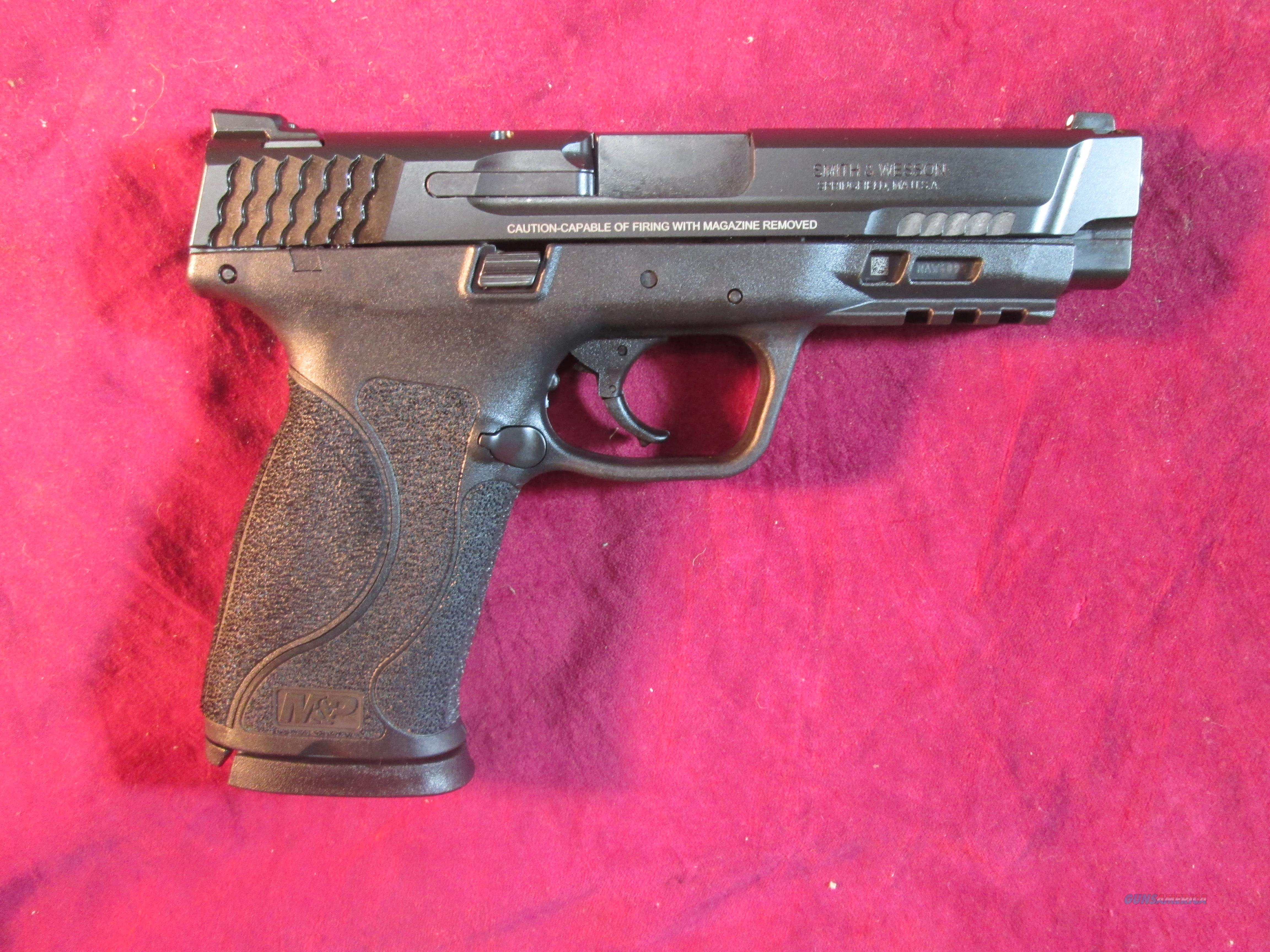 SMITH AND WESSON M&P 2.0 45ACP BLACK NO SAFETY NEW (11523)  Guns > Pistols > Smith & Wesson Pistols - Autos > Polymer Frame