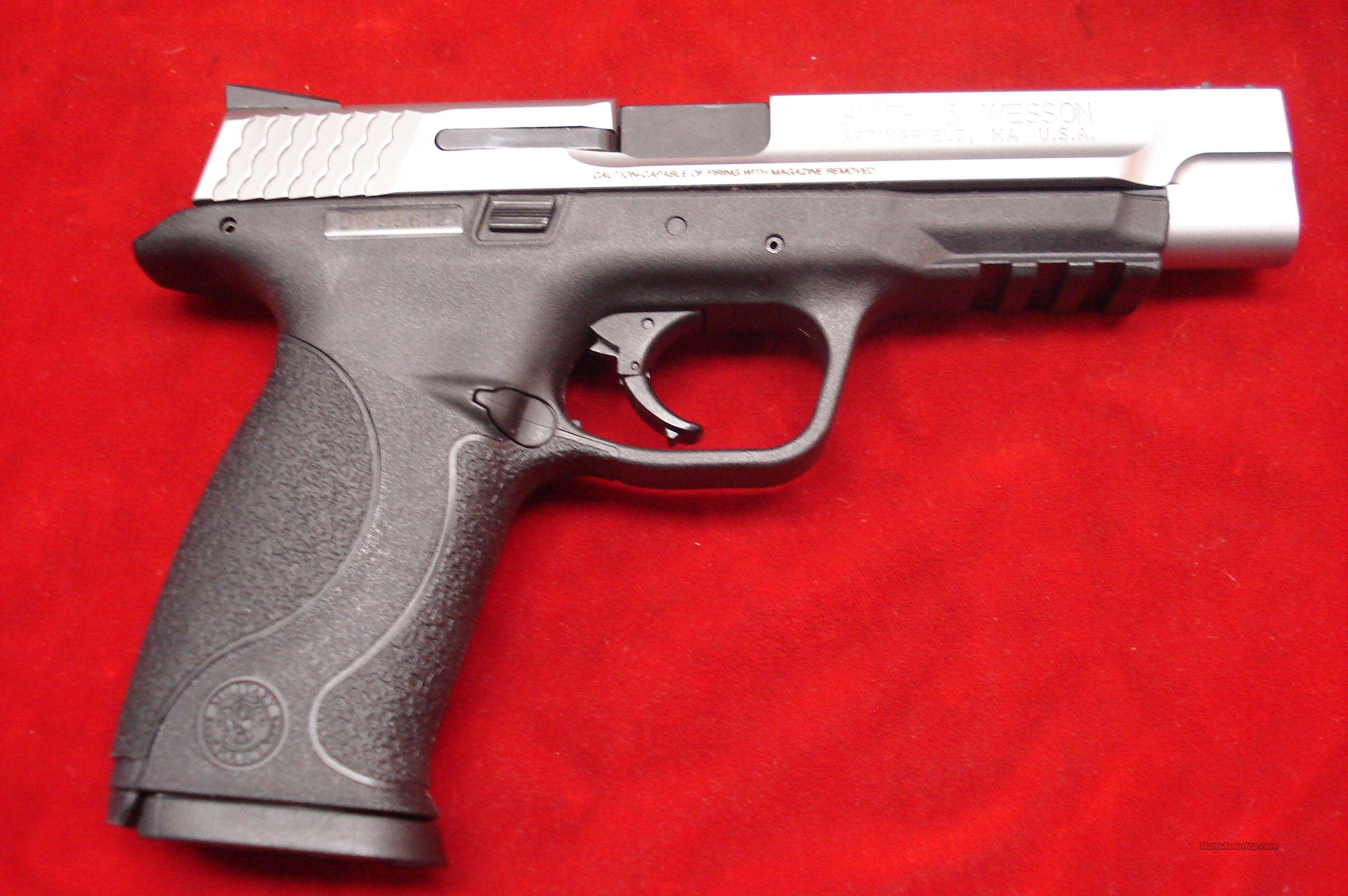 SMITH AND WESSON M&P PRO SERIES 9MM STAINLESS HIGH CAPACITY  NEW   Guns > Pistols > Smith & Wesson Pistols - Autos > Polymer Frame