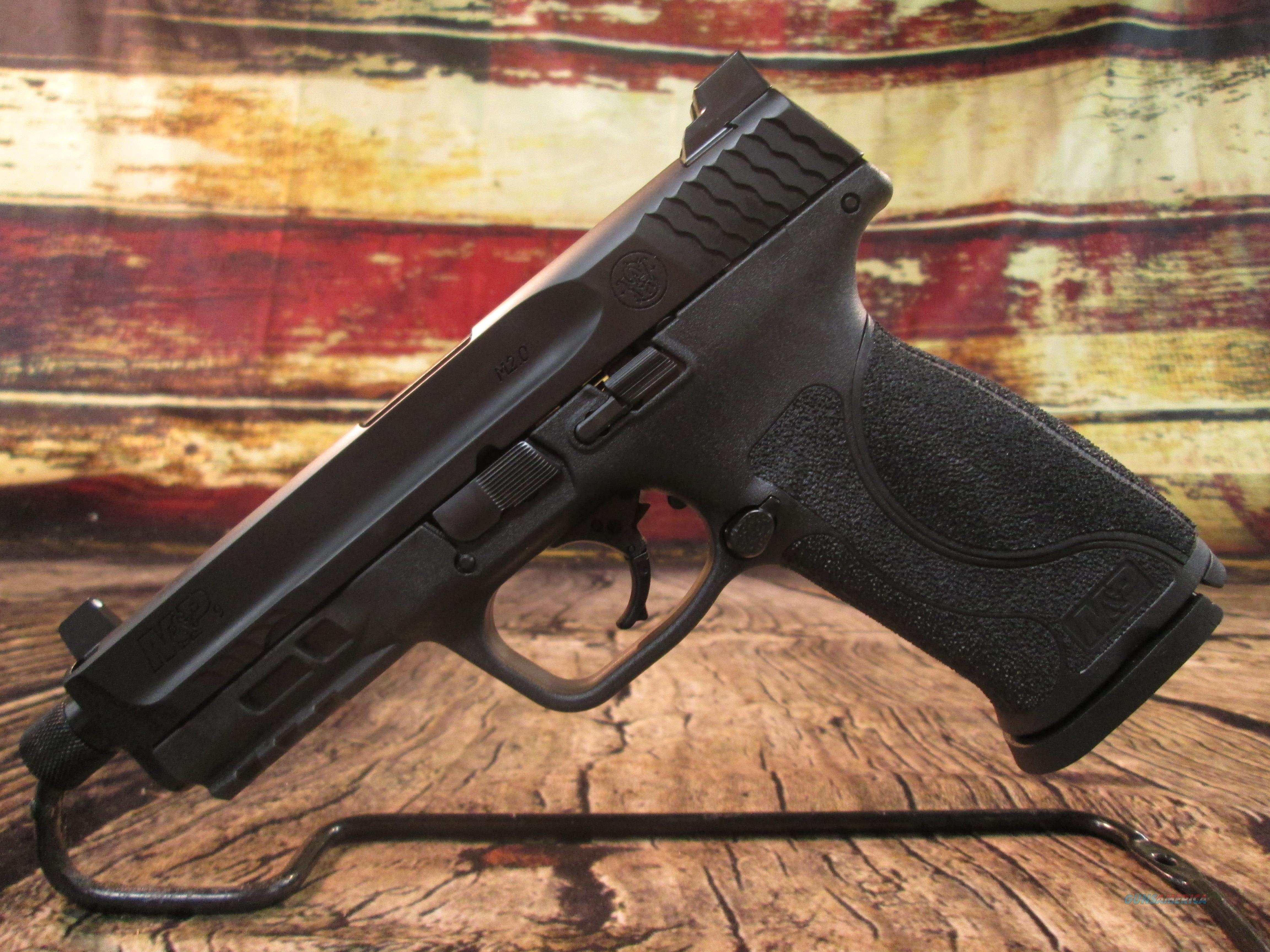 SMITH & WESSON M&P 2.0 9MM WITH THREADED BARREL NEW (11770)  Guns > Pistols > Smith & Wesson Pistols - Autos > Polymer Frame