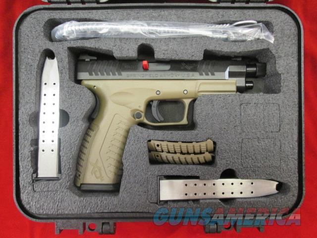 "SPRINGFIELD ARMORY FDE FRAME XDM 9MM 4.5"" THREADED BARREL NEW   (XDMT9459FDEHCE)    Guns > Pistols > Springfield Armory Pistols > XD-M"