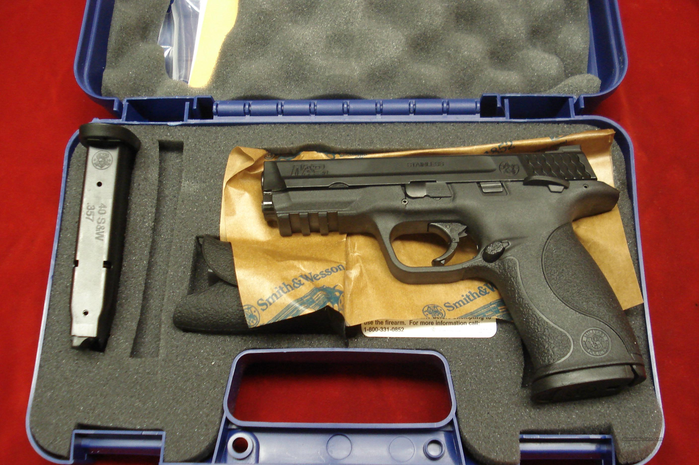 SMITH AND WESSON M&P .40CAL HIGH/CAP W/THUMB SAFETY NEW   Guns > Pistols > Smith & Wesson Pistols - Autos > Polymer Frame