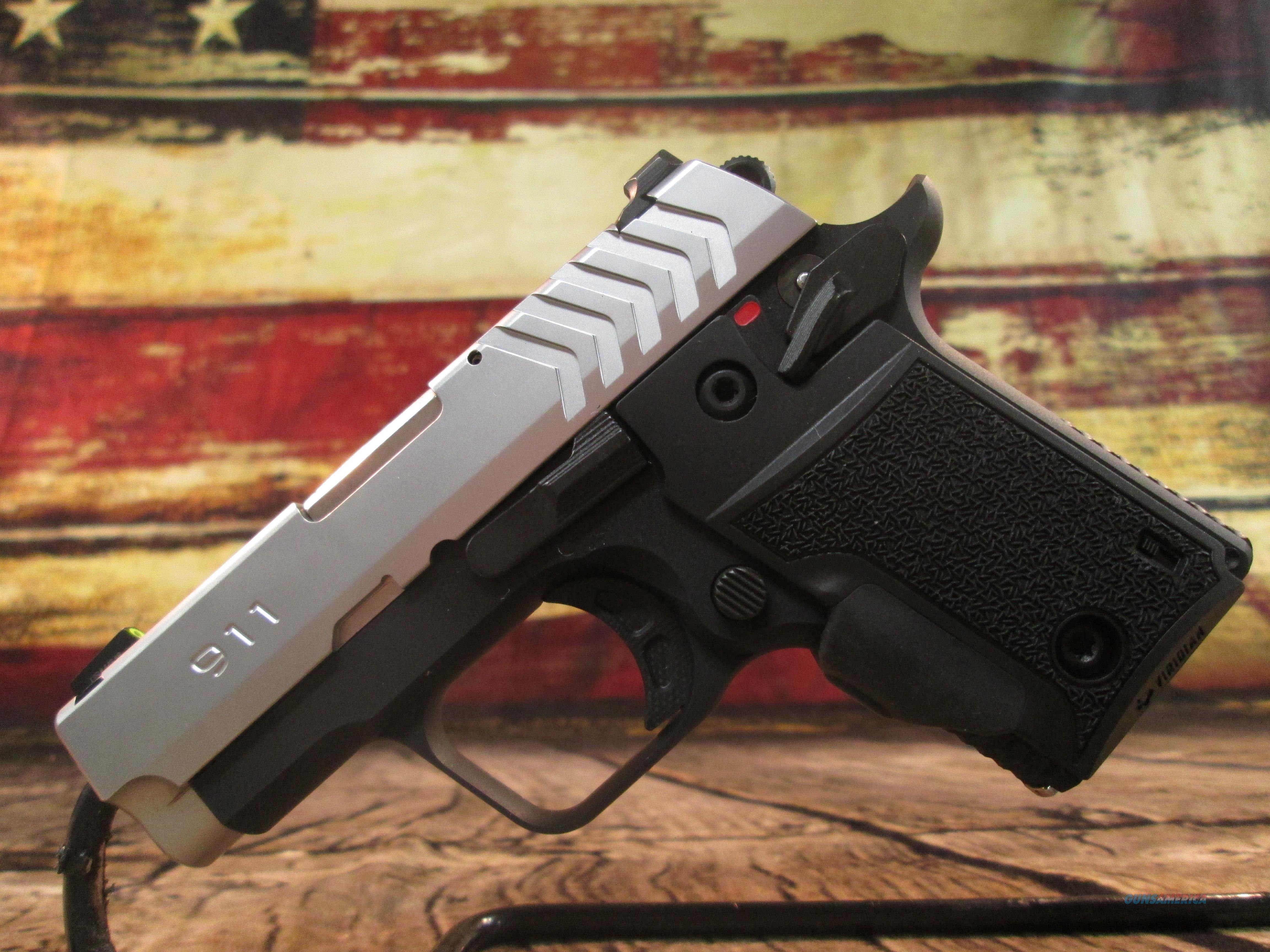 Springfield Armory 911 W/ Viridian Green Laser Grip .380 ACP New (PG9109SVG)  Guns > Pistols > Springfield Armory Pistols > 911