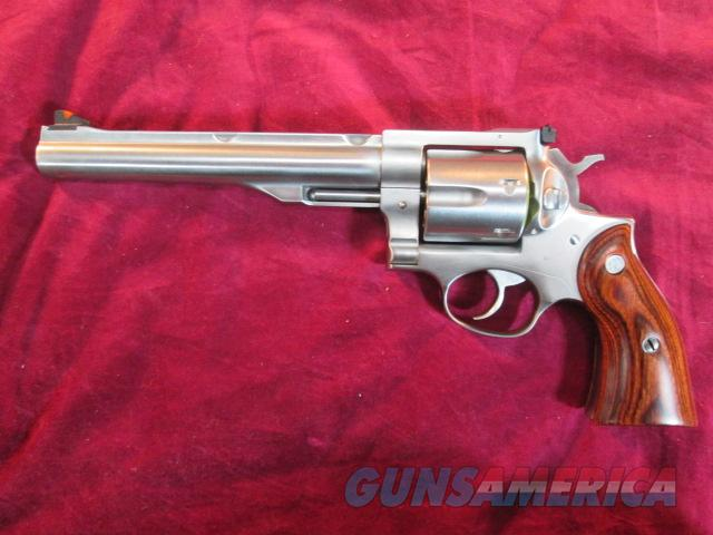 "RUGER NEW MODEL REDHAWK 44MAG. 7.5"" STAINLESS WITH RINGS NEW   (05003)   Guns > Pistols > Ruger Double Action Revolver > Redhawk Type"