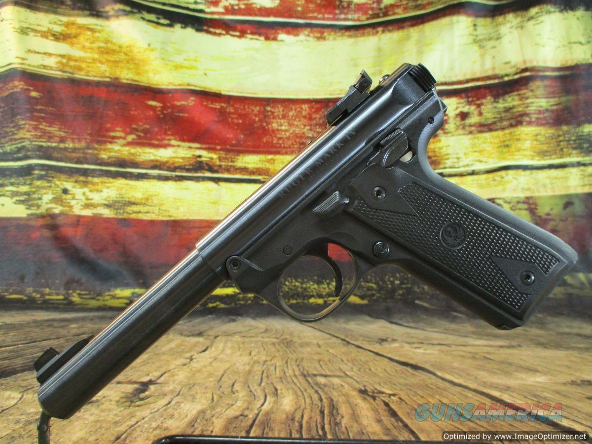"Ruger 22/45 MKIV 5 22 LR 5.5"" New (40107)   Guns > Pistols > Ruger Semi-Auto Pistols > Mark I/II/III/IV Family"