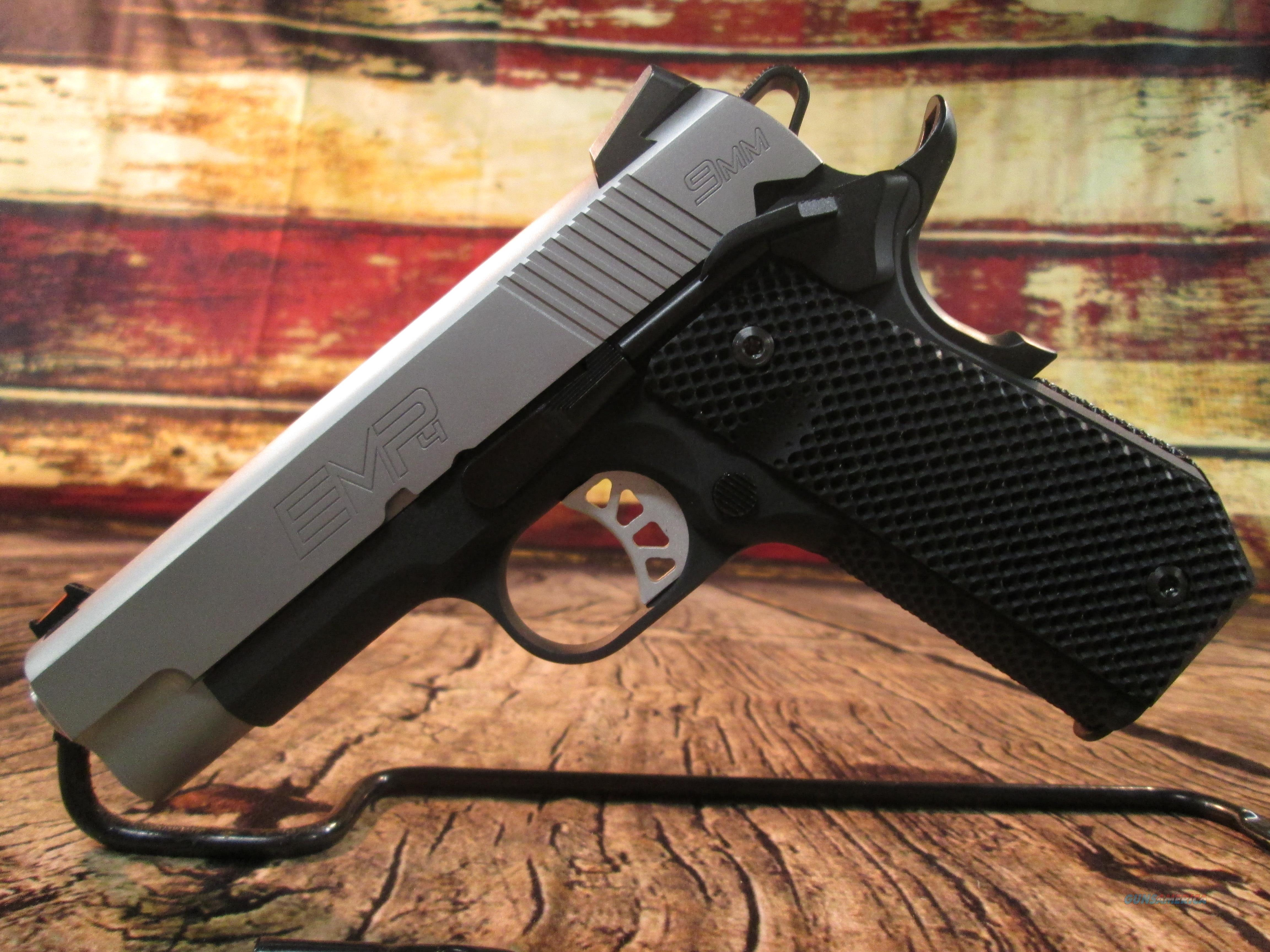 SPRINGFIELD ARMORY 1911 EMP CONCEALED CARRY CONTOUR 9MM NEW (PI9229L)   Guns > Pistols > Springfield Armory Pistols > 1911 Type
