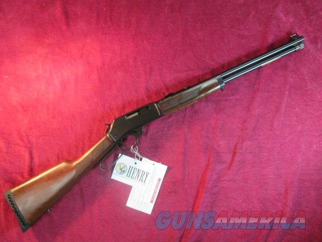 HENRY 30-30 CAL. BLUE STEEL RECEIVER WITH ROUND BARREL NEW  (H009)  Guns > Rifles > Henry Rifle Company