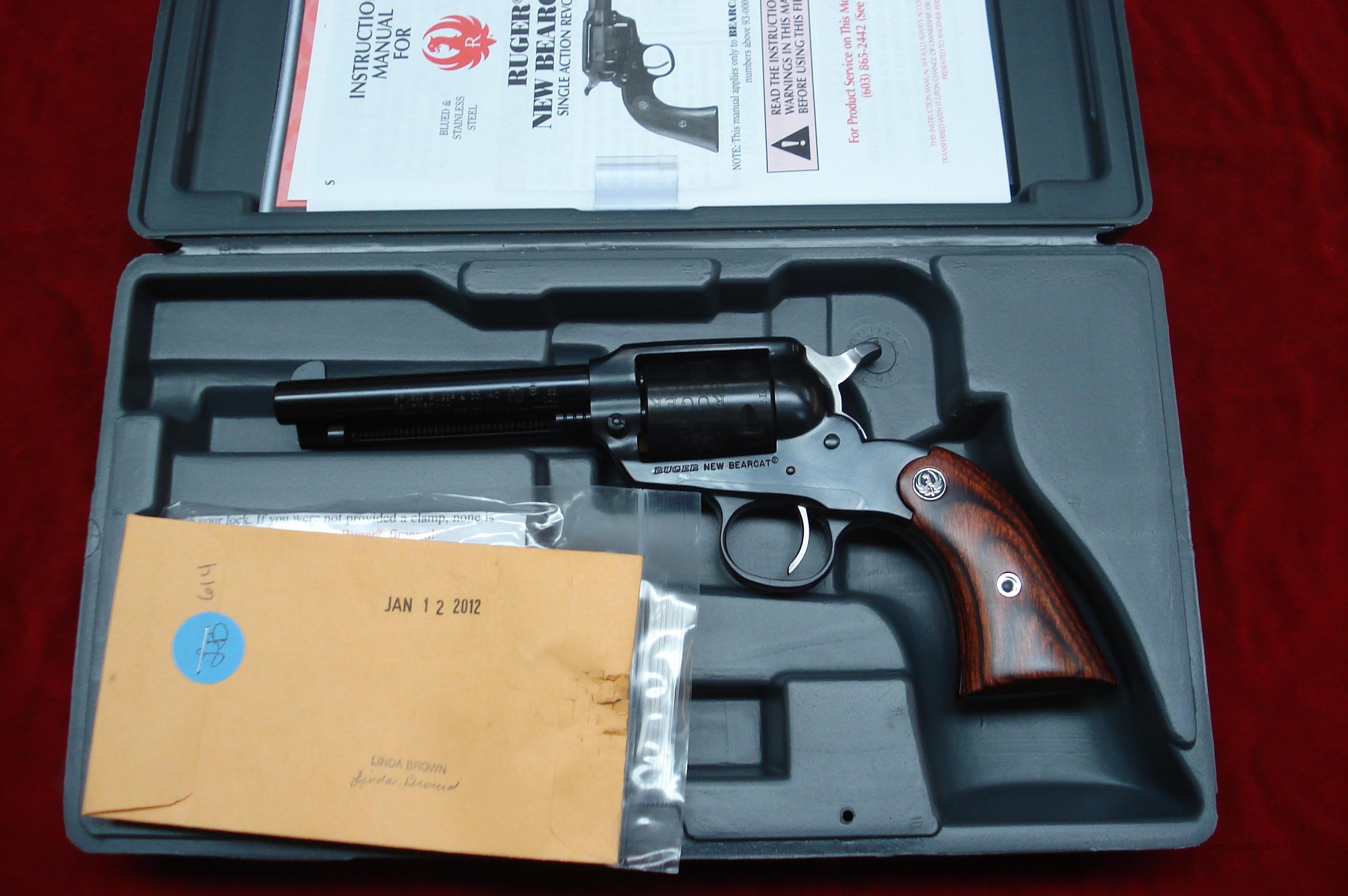 RUGER BEARCAT 22CAL. BLUE NEW (SBC-4)  (00912)  Guns > Pistols > Ruger Single Action Revolvers > Bearcat