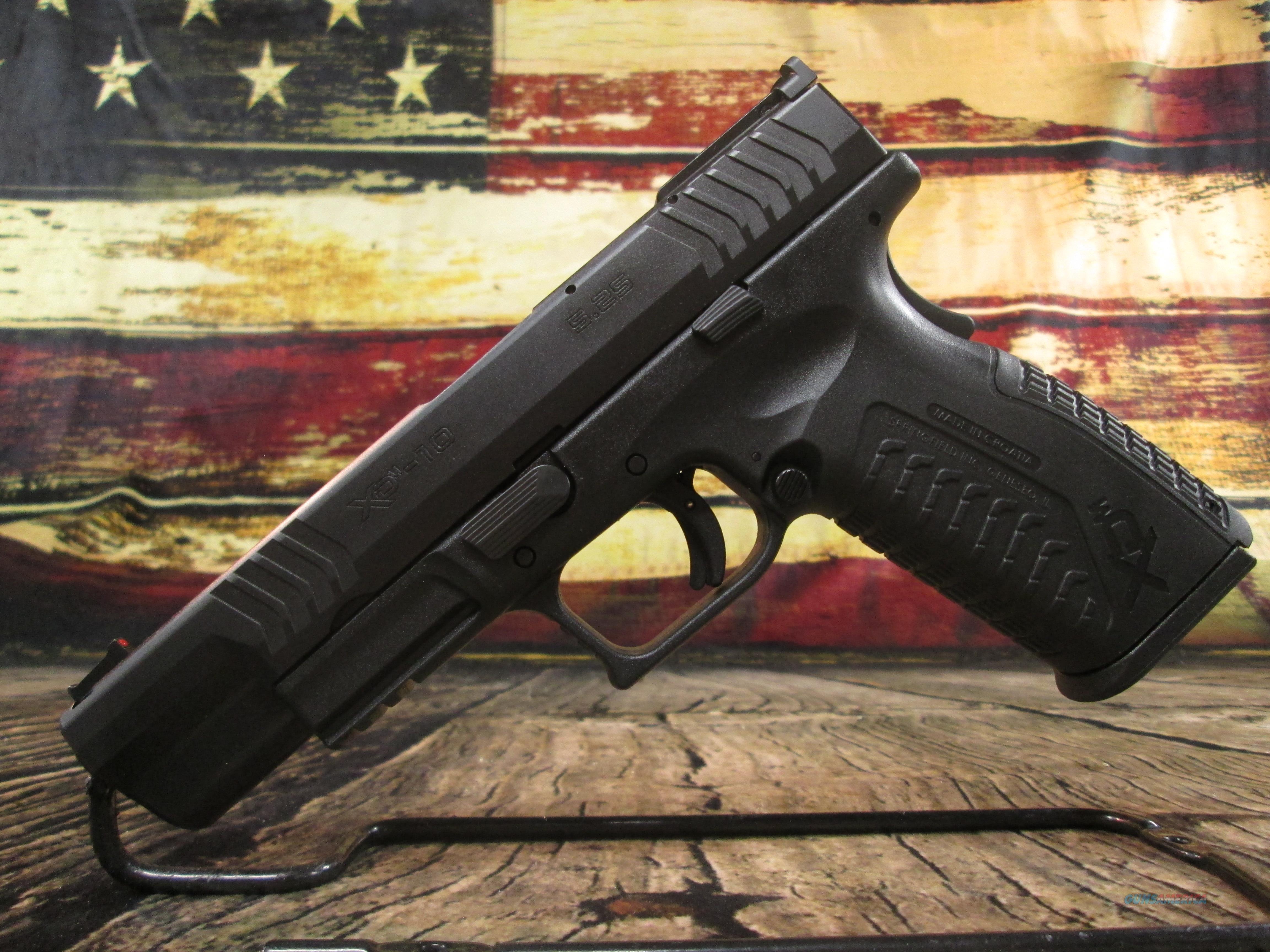 "Springfield Armory XDM Full Size 10mm 5.25"" NEW (XDM952510BHCE)  Guns > Pistols > Springfield Armory Pistols > XD-M"