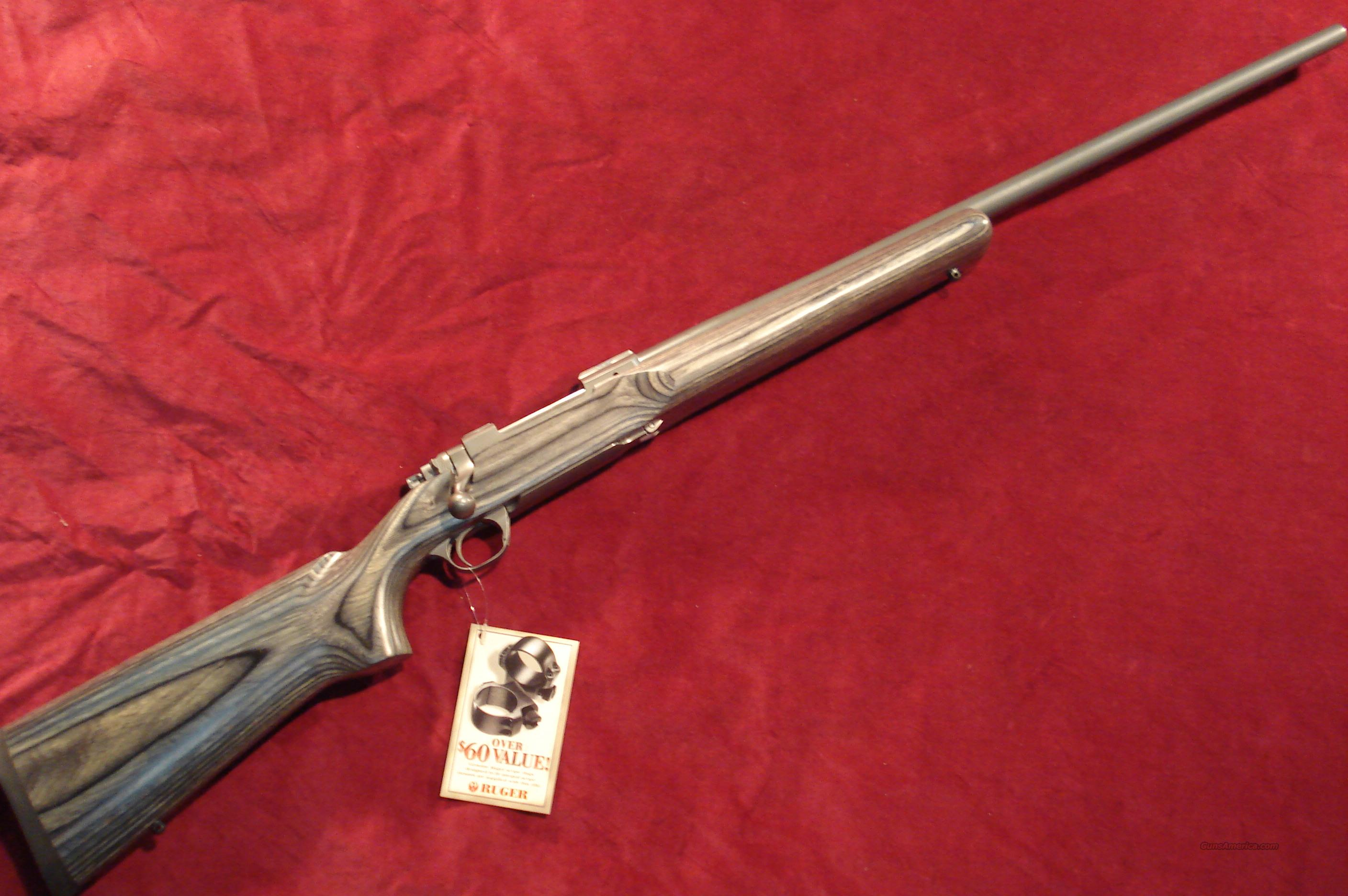 RUGER M77MKIIVT 22-250 STAINLESS TARGET GREY NEW  Guns > Rifles > Ruger Rifles > Model 77