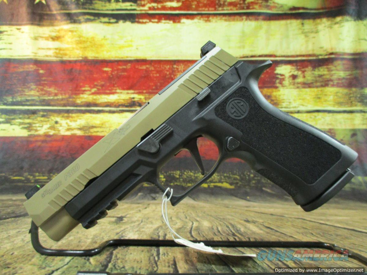 "Sig Sauer P320 X-VTAC 9mm 4.7"" 17+1 Black/Flat Dark Earth SS NEW (320XF9VTACR2)  Guns > Pistols > Sig - Sauer/Sigarms Pistols > P320"
