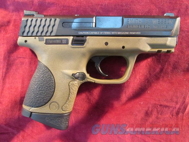 SMITH AND WESSON M&P COMPACT 9MM FLAT DARK EARTH FRAME NEW  (10191)    Guns > Pistols > Smith & Wesson Pistols - Autos > Polymer Frame