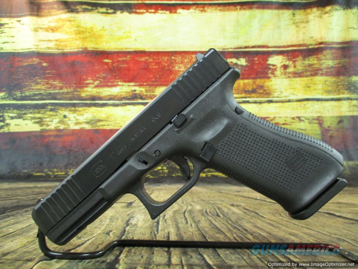 "Glock 17 9mm Gen 5 17+1 4.49"" Barrel Fixed Sights New (PA175S203)  Guns > Pistols > Glock Pistols > 17"