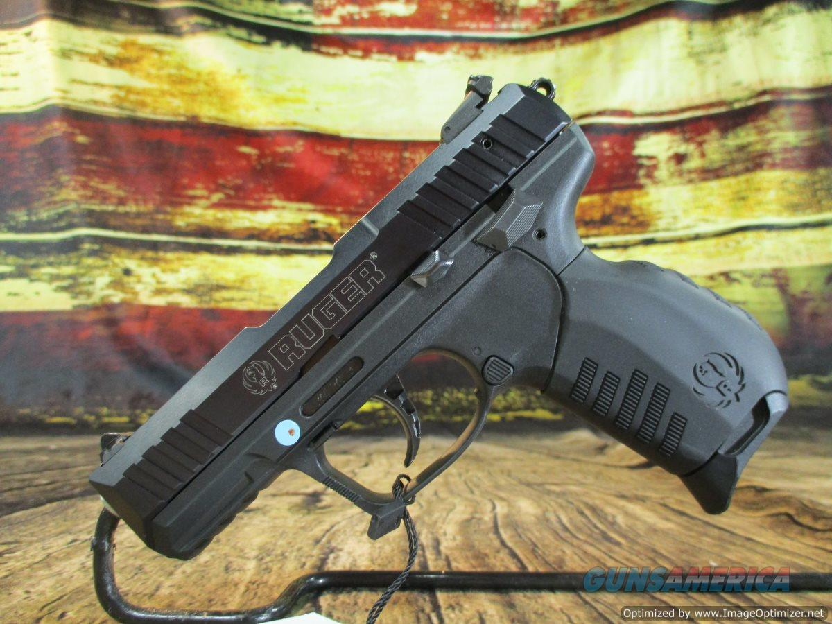 Ruger 22 LR SR22 Threaded Black New (03604)  Guns > Pistols > Ruger Semi-Auto Pistols > SR Family > SR22