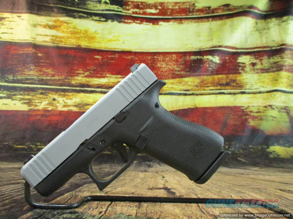 Glock 9MM Model 43X Night Sights New (PX435SL701)  Guns > Pistols > Glock Pistols > 43/43X