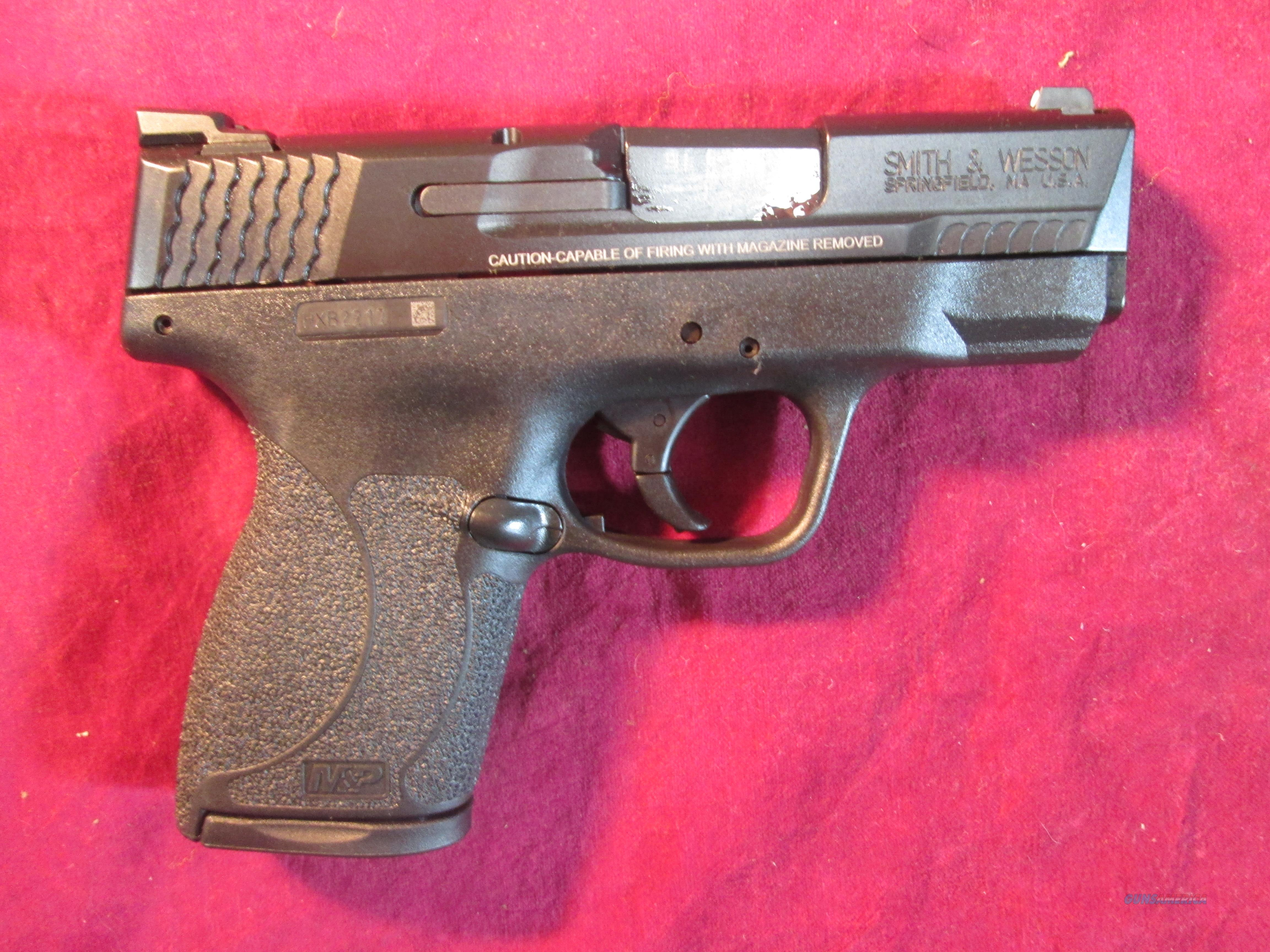 SMITH AND WESSON M&P SHIELD 45ACP  W/ NIGHT SIGHTS AND 3 MAGS NO SAFETY NEW (11726)    Guns > Pistols > Smith & Wesson Pistols - Autos > Polymer Frame