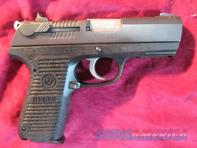 RUGER P95 BLUED SEMI AUTO 9MM CAL USED   Guns > Pistols > Ruger Semi-Auto Pistols > P-Series