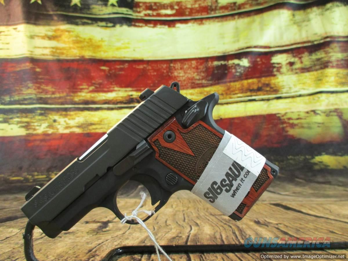 "Sig Sauer 380 ACP P238 W/ Rosewood Grips 2.7"" New (238-380-RG)  Guns > Pistols > Sig - Sauer/Sigarms Pistols > P238"