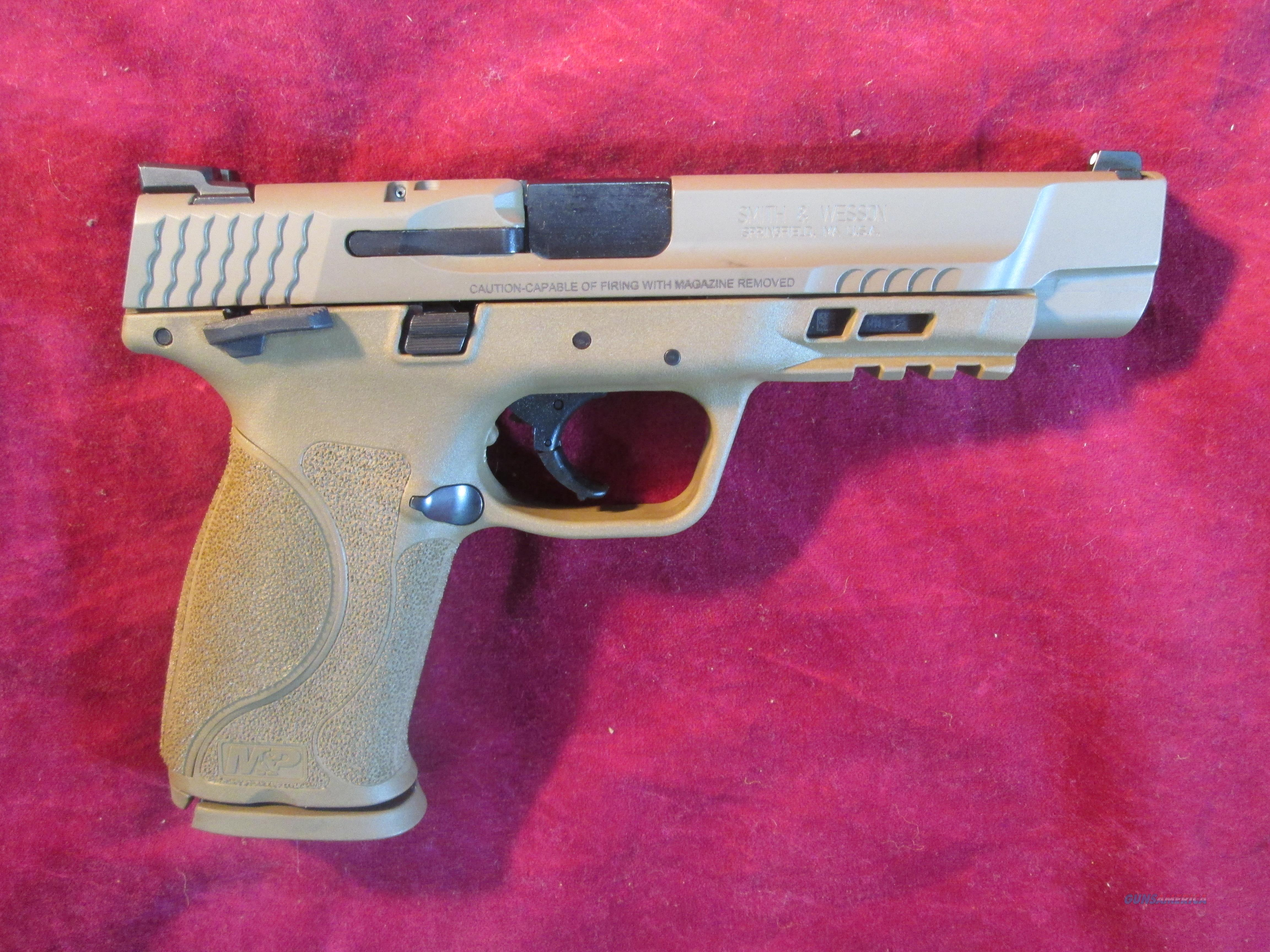 """SMITH AND WESSON M&P 2.0 9MM 5"""" FDE NEW (11537)    Guns > Pistols > Smith & Wesson Pistols - Autos > Polymer Frame"""