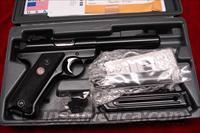 "RUGER  MKIII  5.5""  BULL BARREL BLUE NEW (MKIII512)  Ruger Semi-Auto Pistols > Mark I & II Family"