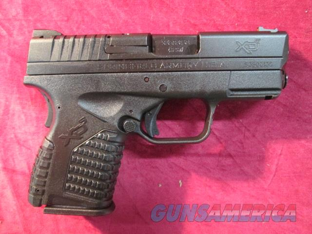 "SPRINGFIELD ARMORY XDS 3.3"" BLACK 40CAL NEW  (XDS93340BE)   Guns > Pistols > Springfield Armory Pistols > XD-S"