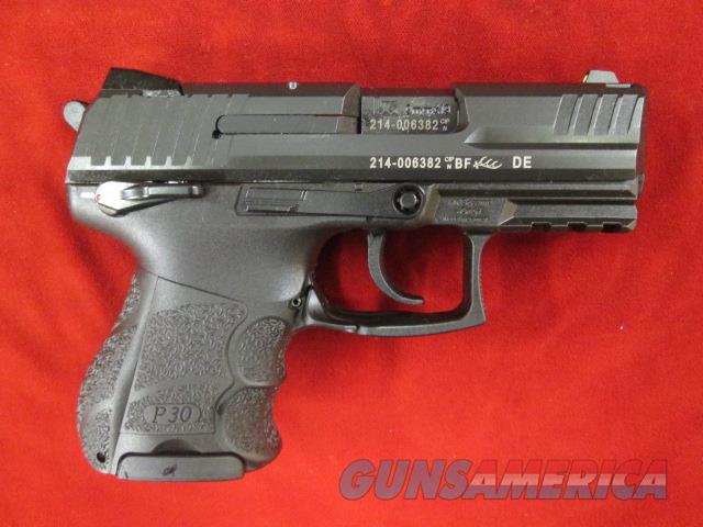 HECKLER AND KOCH P30 SK COMPACT W/ SAFETY 9MM NEW   (730903KS-A5)   Guns > Pistols > Heckler & Koch Pistols > Polymer Frame