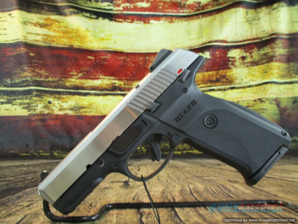 Ruger 40 S&W SR40 Stainless New (03470)   Guns > Pistols > Ruger Semi-Auto Pistols > SR Family > SR40