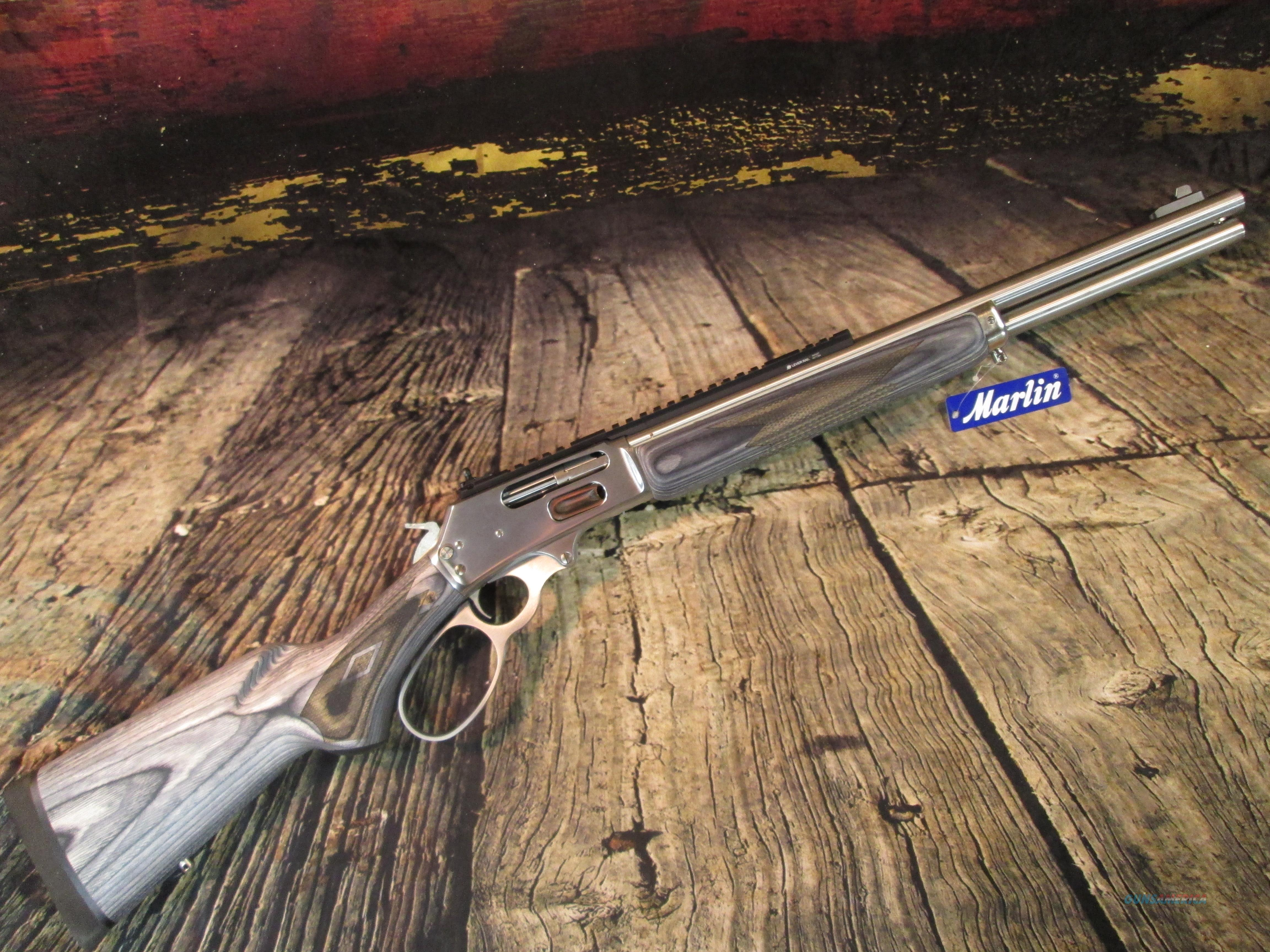MARLIN 1895 SBL STAINLESS BIG LOOP 45/70 NEW (70478)  Guns > Rifles > Marlin Rifles > Modern > Lever Action