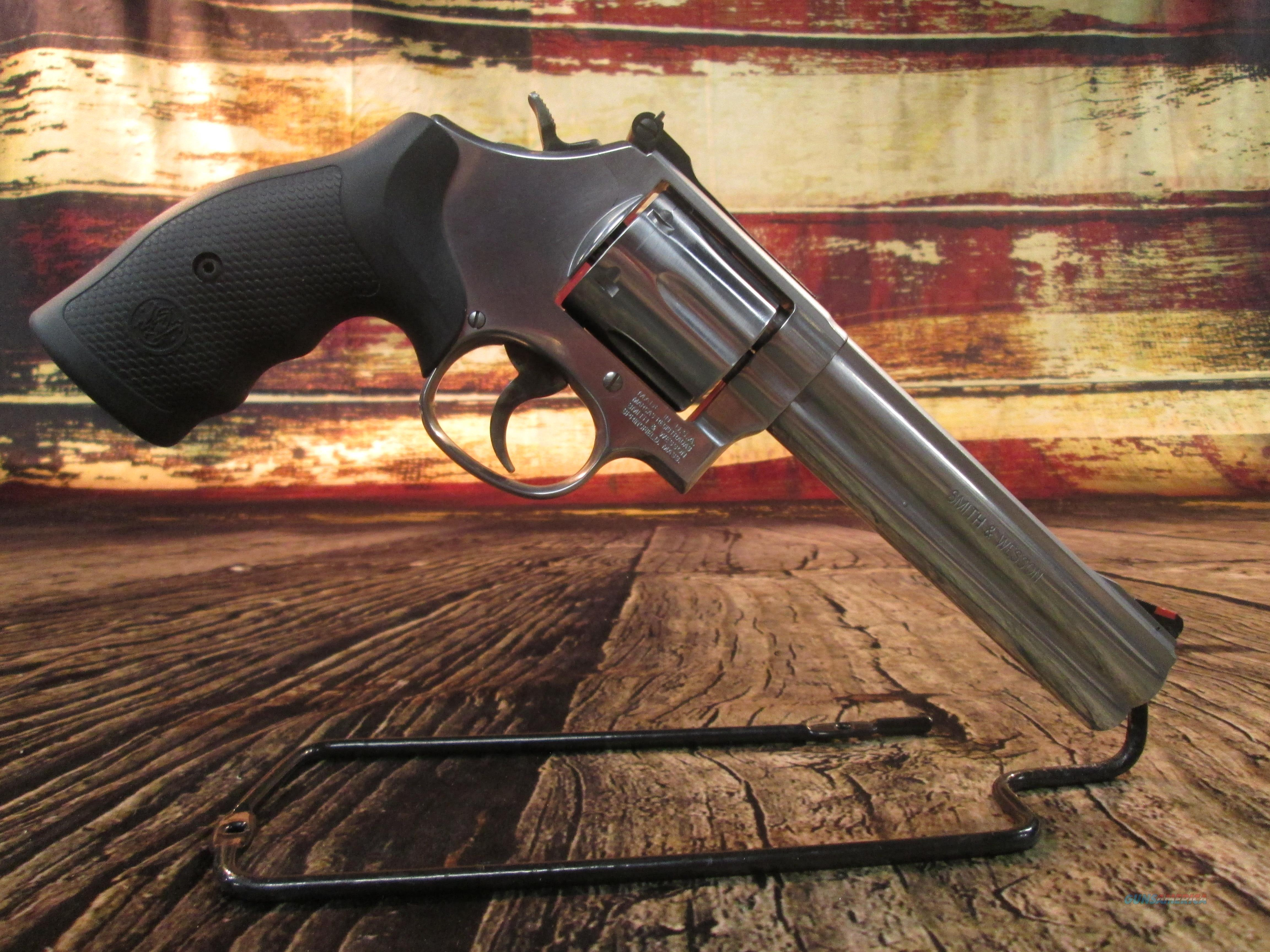 """SMITH AND WESSON MODEL 686 6"""" 357MAG STAINLESS NEW (164224)   Guns > Pistols > Smith & Wesson Revolvers > Med. Frame ( K/L )"""