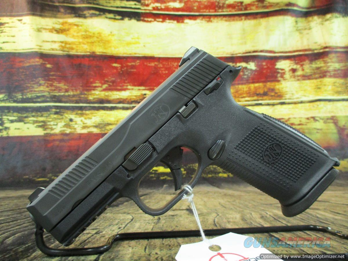 "FN FNS-40 Black 40 S&W 4"" New (66940)  Guns > Pistols > FNH - Fabrique Nationale (FN) Pistols > FNS"