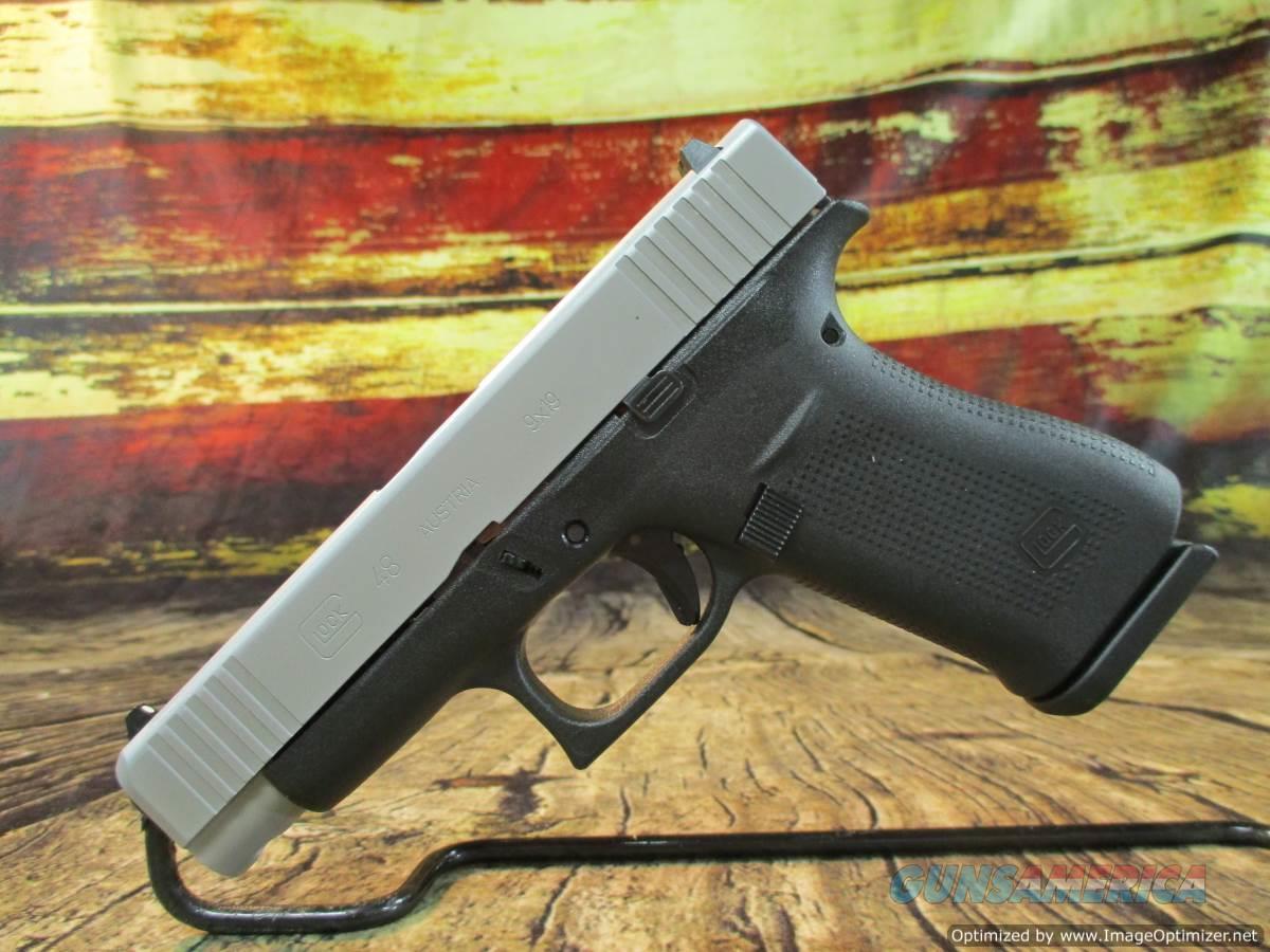 """Glock Model 48 9mm 4.17"""" New (PA485SL201)  Guns > Pistols > Glock Pistols > 19/19X"""