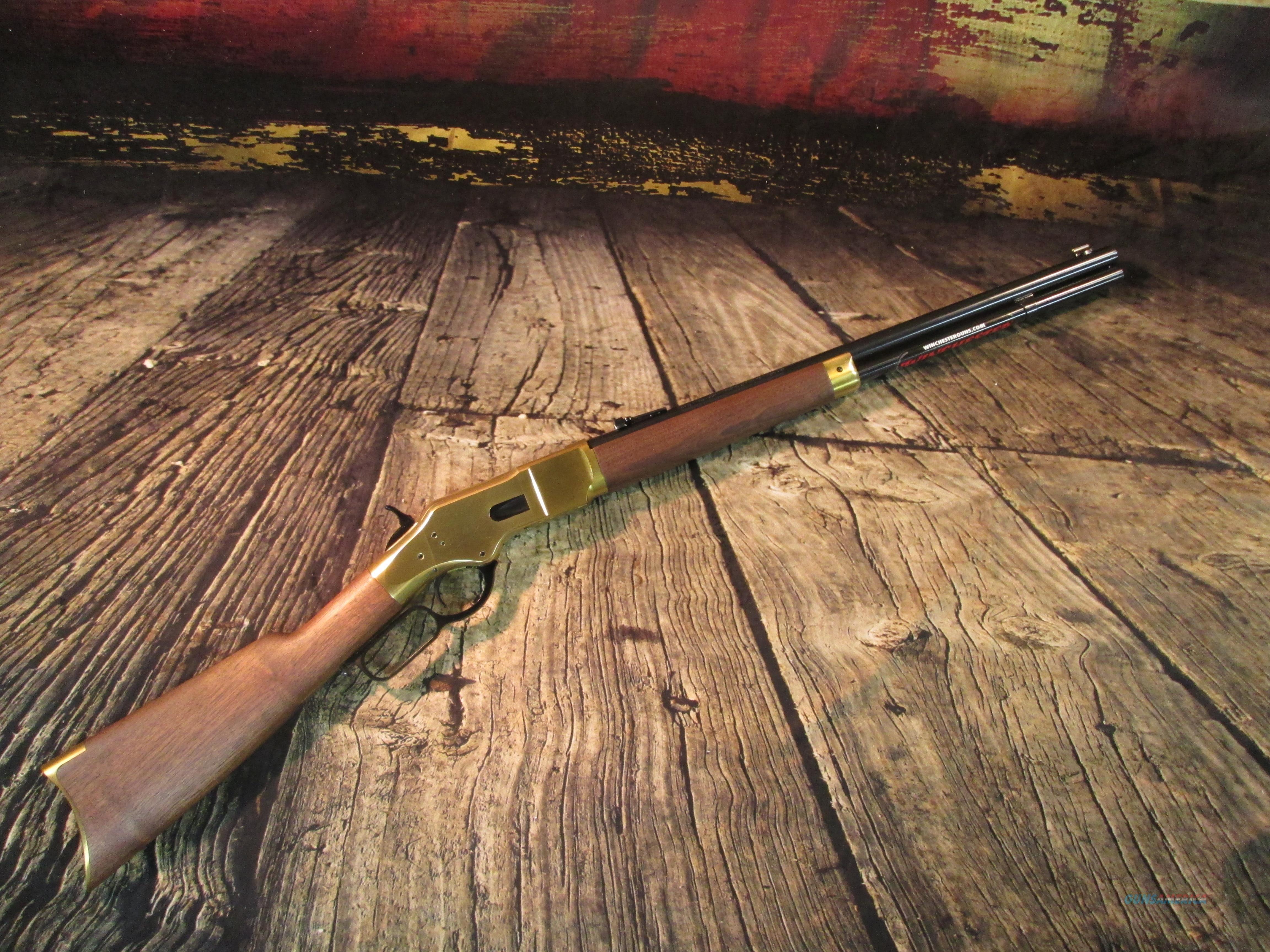 """WINCHESTER 1866 SHORT YELLOW BOY LEVER 44-40 20"""" (534244140)  Guns > Rifles > Winchester Rifles - Modern Lever > Other Lever > Post-64"""