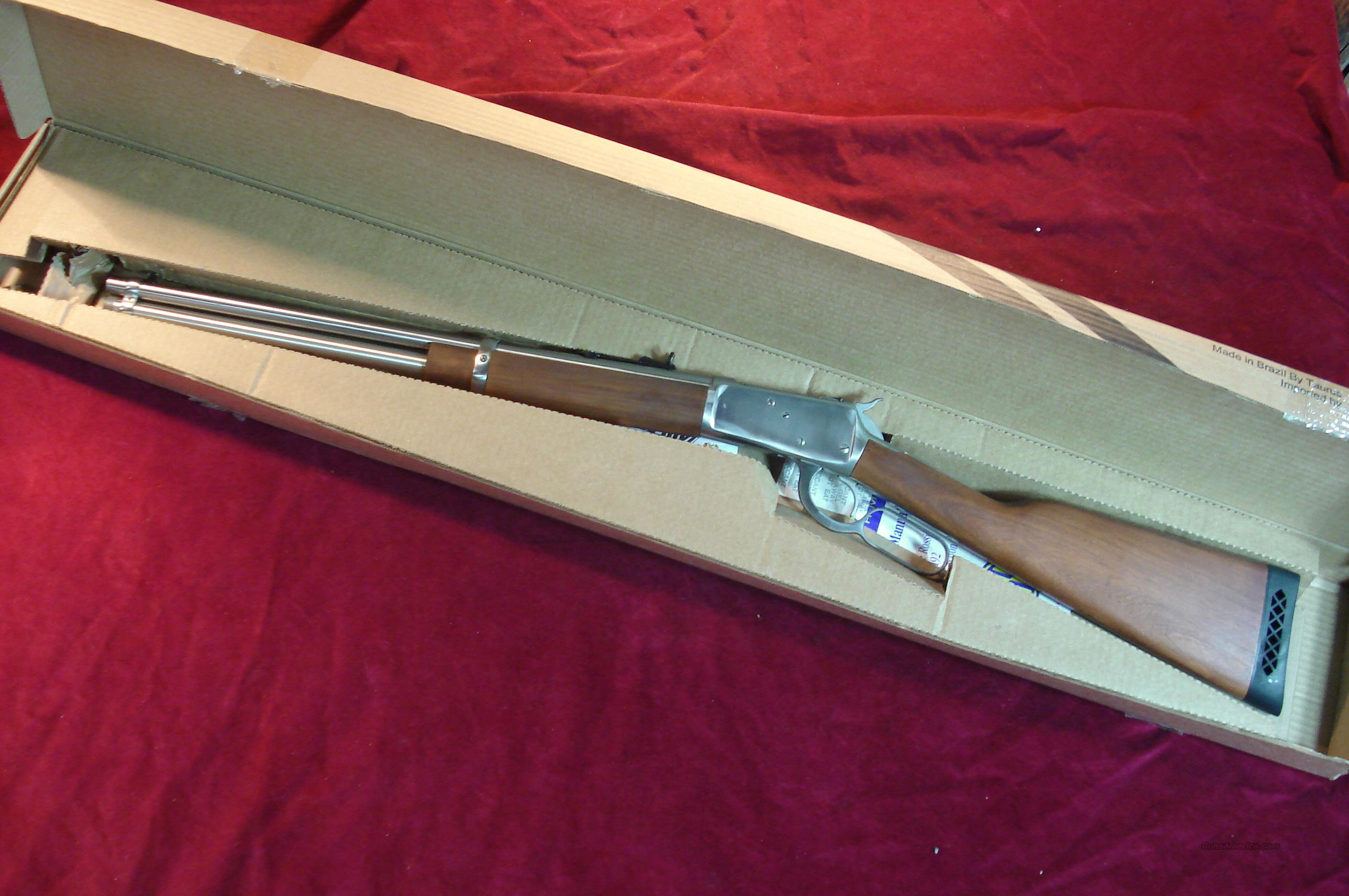 "ROSSI 20"" STAINLESS 92 LEVER ACTION 454 CASULL NEW  Guns > Rifles > Rossi Rifles > Cowboy"