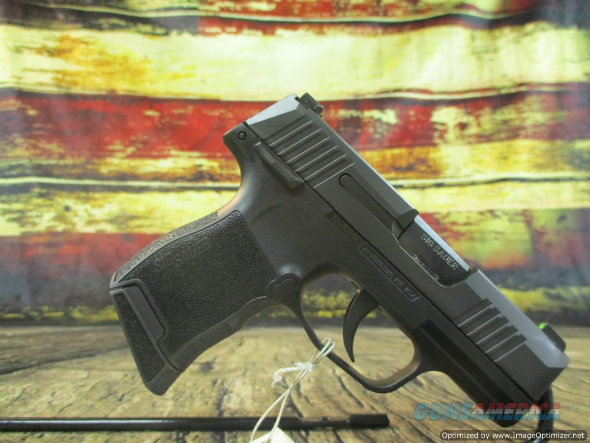 Sig Sauer P365 W/ Manual Safety Micro Compact 9mm 10+1 Capacity New (365-9-BXR3-MS)  Guns > Pistols > Sig - Sauer/Sigarms Pistols > P365