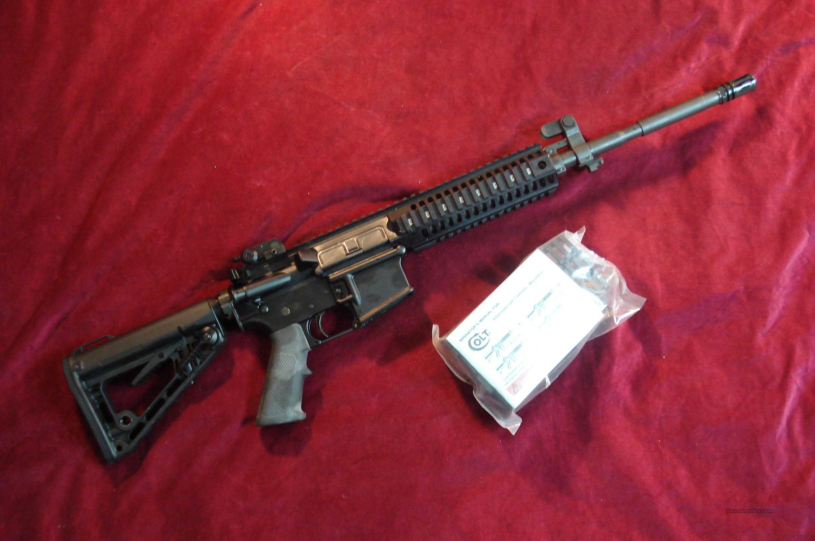 COLT  (LE6940) MONOLITHIC QUAD RAIL M4 CARBINE NEW IN THE BOX  Guns > Rifles > Colt Military/Tactical Rifles
